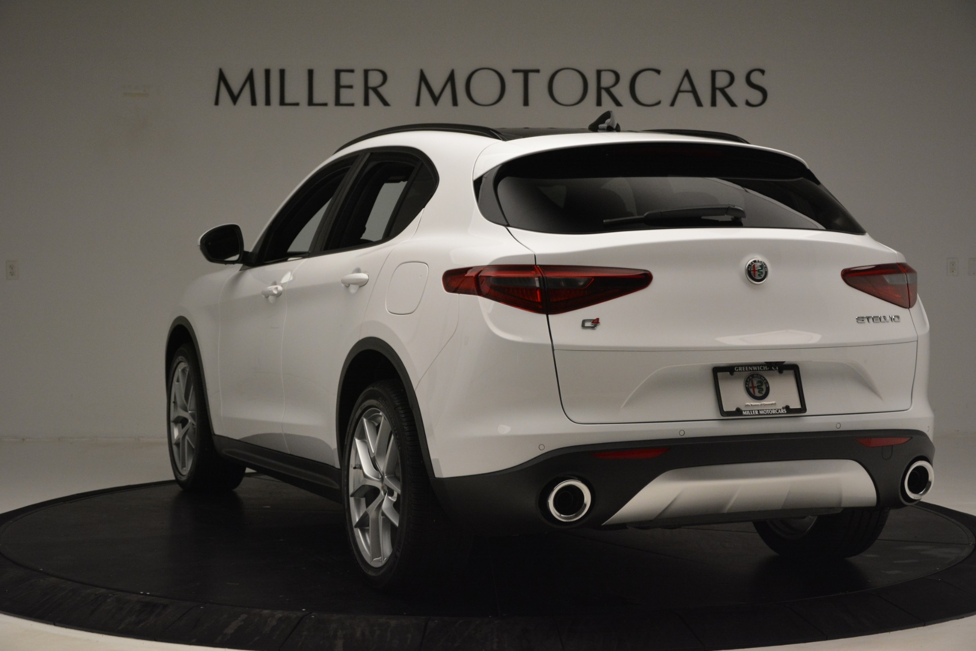 New 2019 Alfa Romeo Stelvio Ti Sport Q4 For Sale In Greenwich, CT. Alfa Romeo of Greenwich, L650 3286_p5