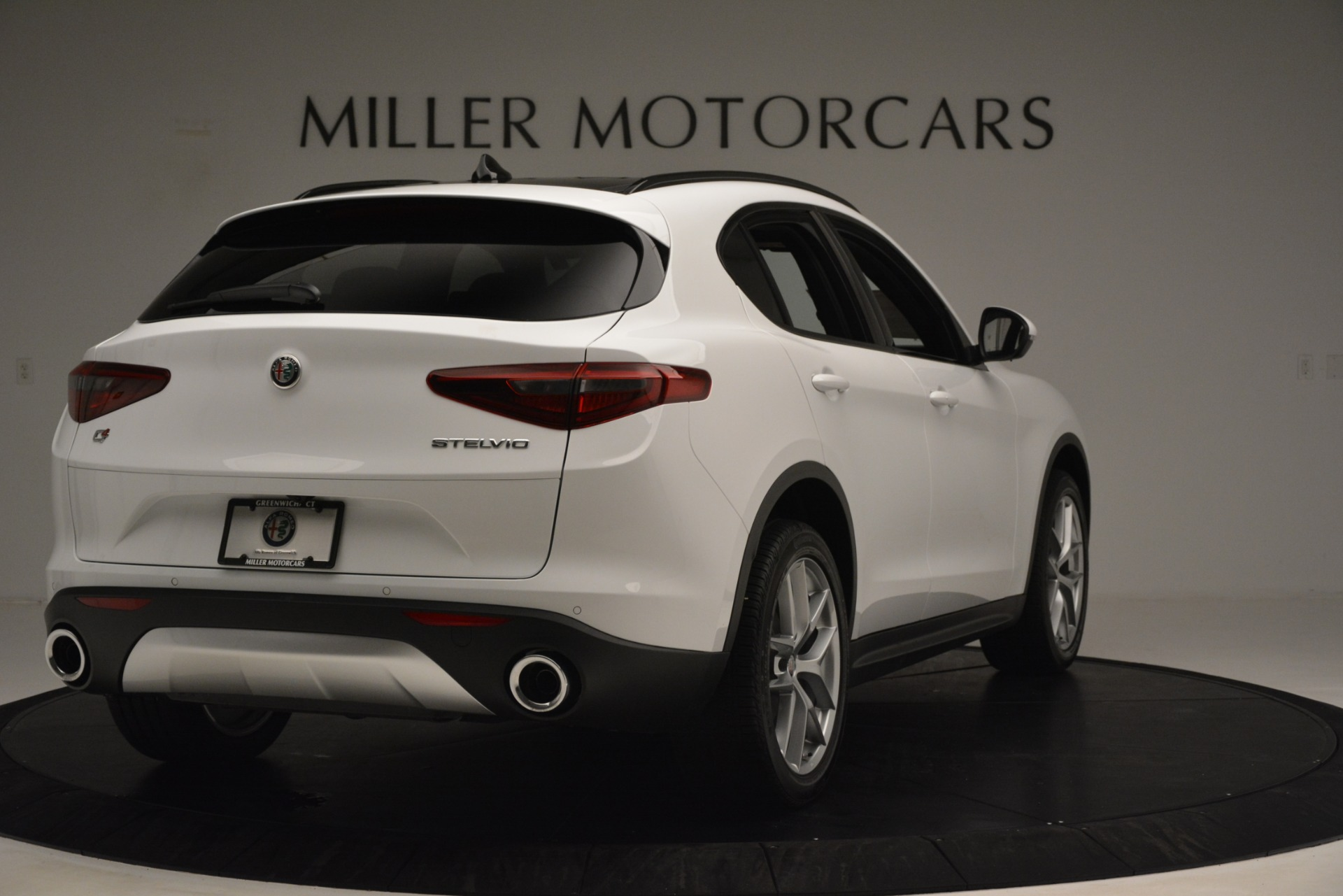 New 2019 Alfa Romeo Stelvio Ti Sport Q4 For Sale In Greenwich, CT. Alfa Romeo of Greenwich, L650 3286_p7