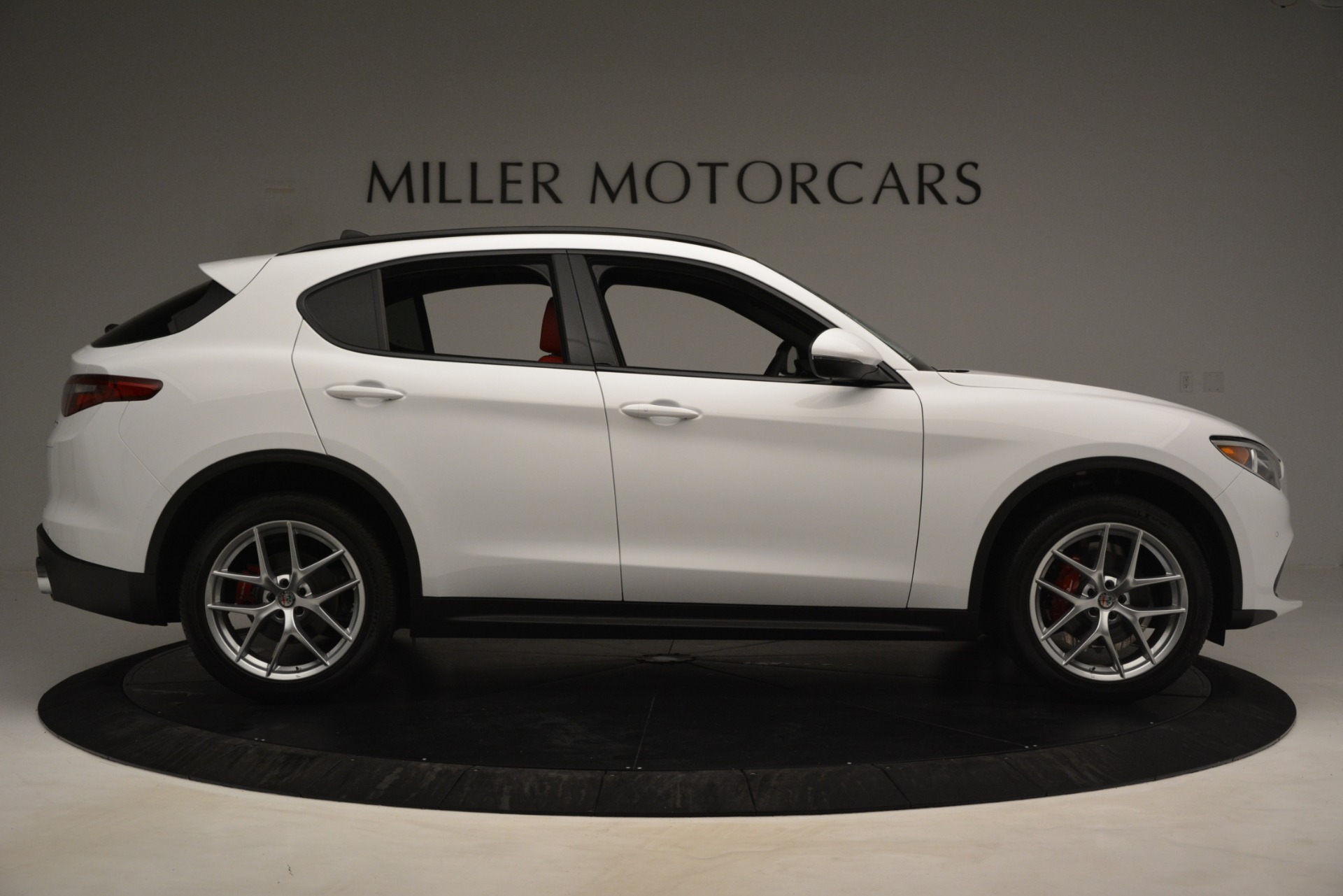 New 2019 Alfa Romeo Stelvio Ti Sport Q4 For Sale In Greenwich, CT. Alfa Romeo of Greenwich, L650 3286_p9