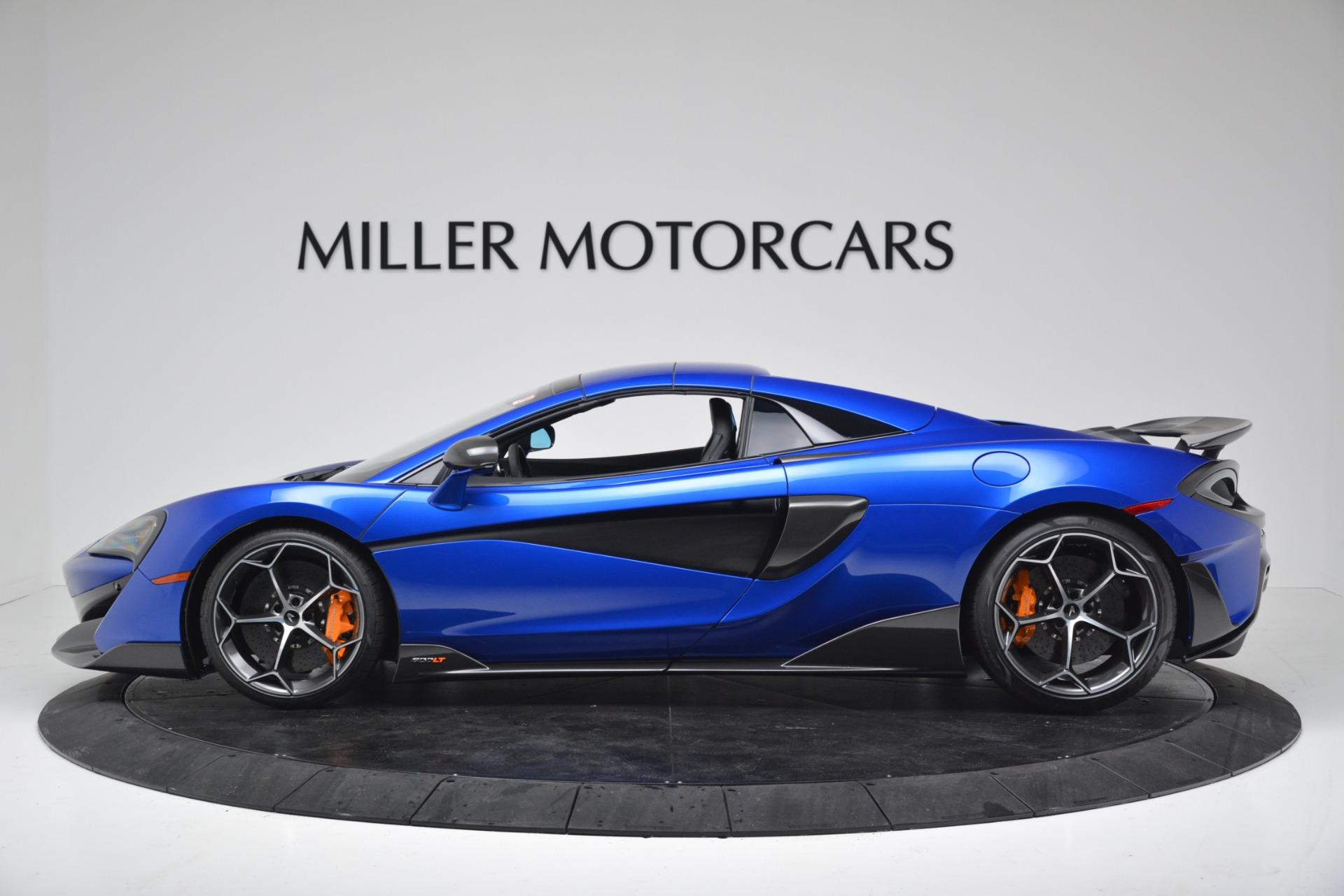 New 2020 McLaren 600LT Spider Convertible For Sale In Greenwich, CT. Alfa Romeo of Greenwich, MC439 3309_p13