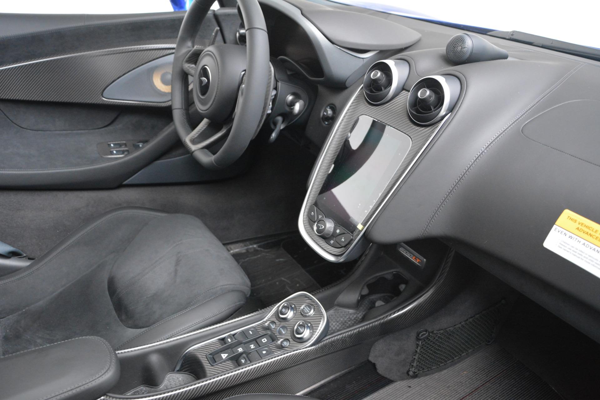 New 2020 McLaren 600LT Spider Convertible For Sale In Greenwich, CT. Alfa Romeo of Greenwich, MC439 3309_p25