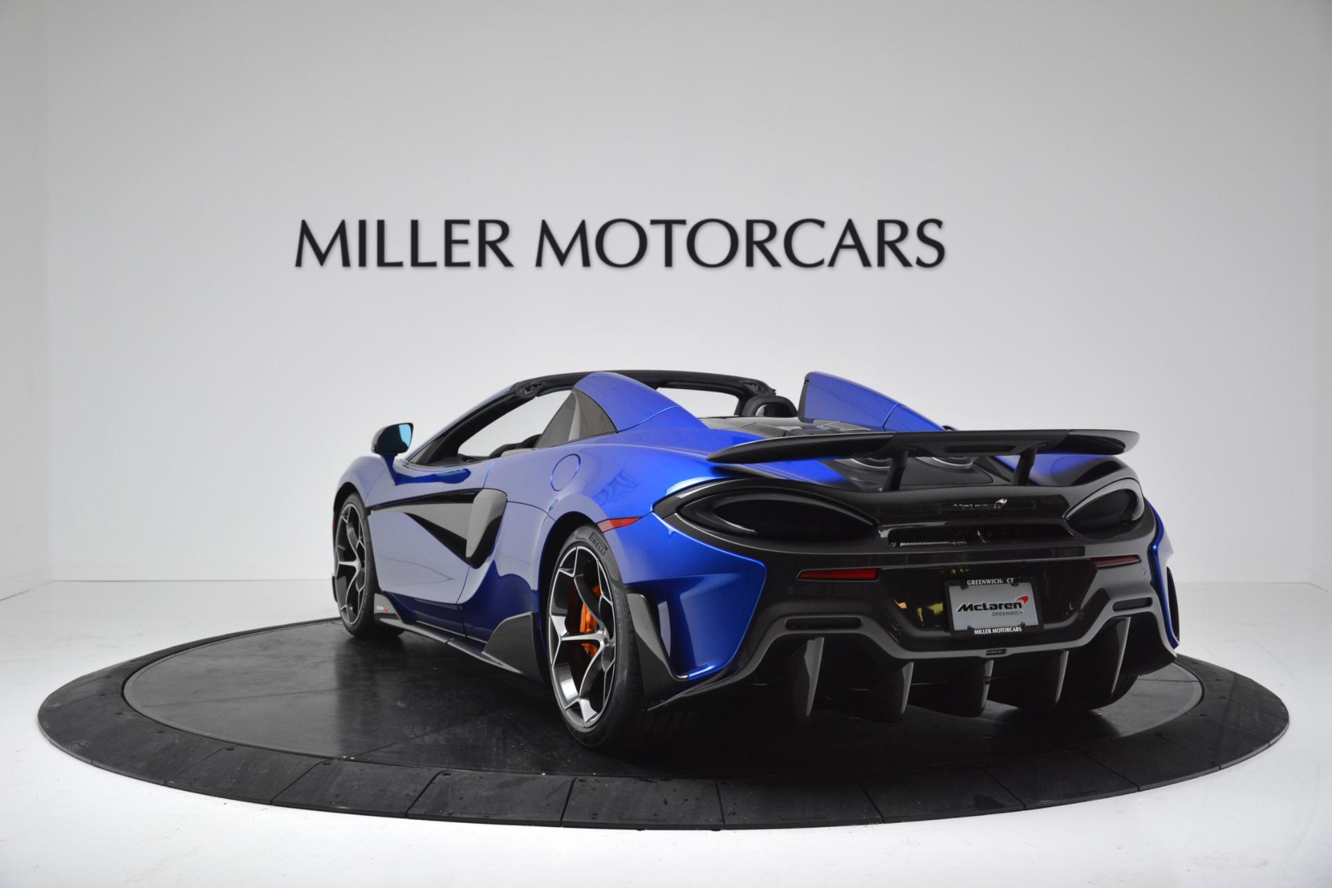 New 2020 McLaren 600LT Spider Convertible For Sale In Greenwich, CT. Alfa Romeo of Greenwich, MC439 3309_p5