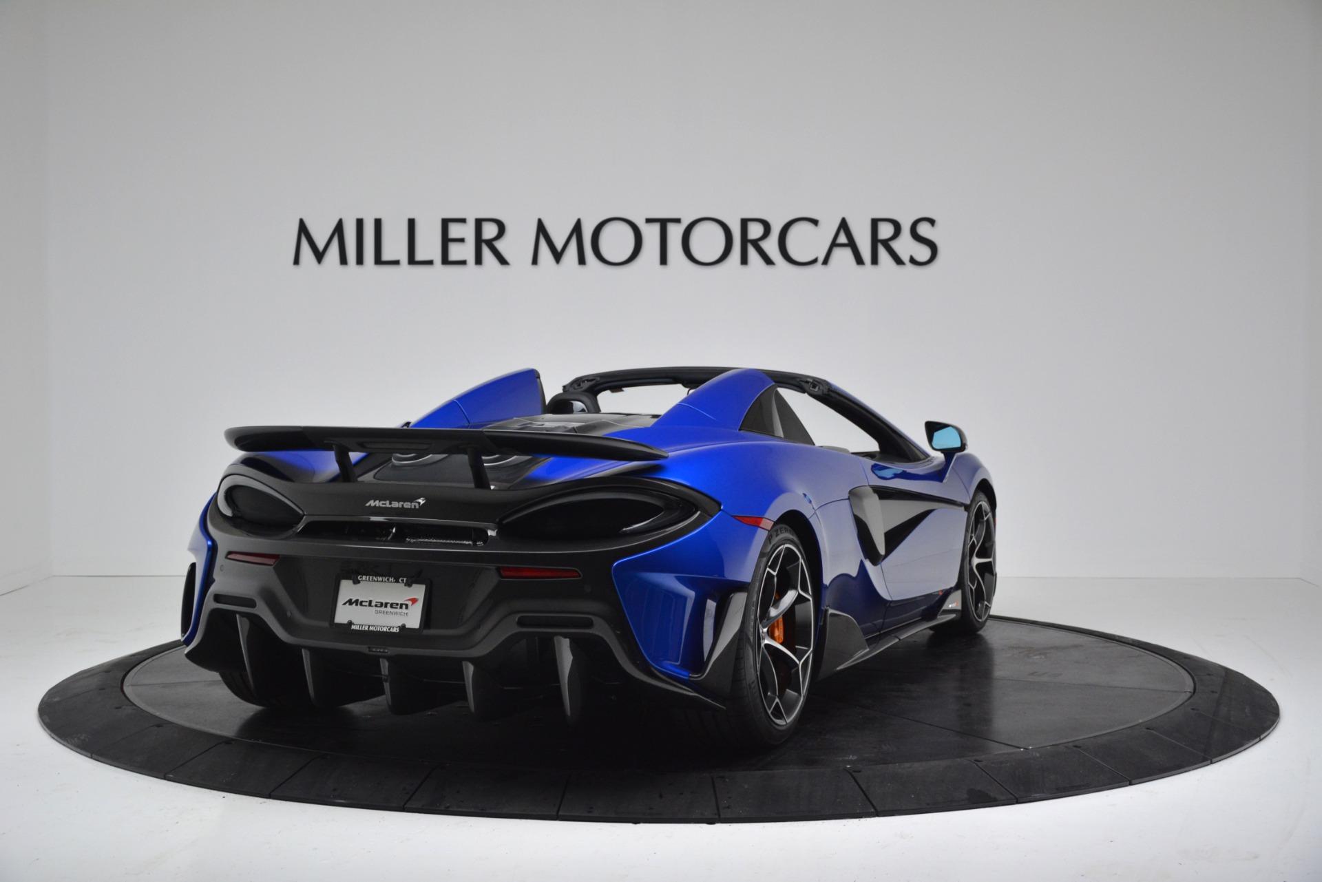 New 2020 McLaren 600LT Spider Convertible For Sale In Greenwich, CT. Alfa Romeo of Greenwich, MC439 3309_p7