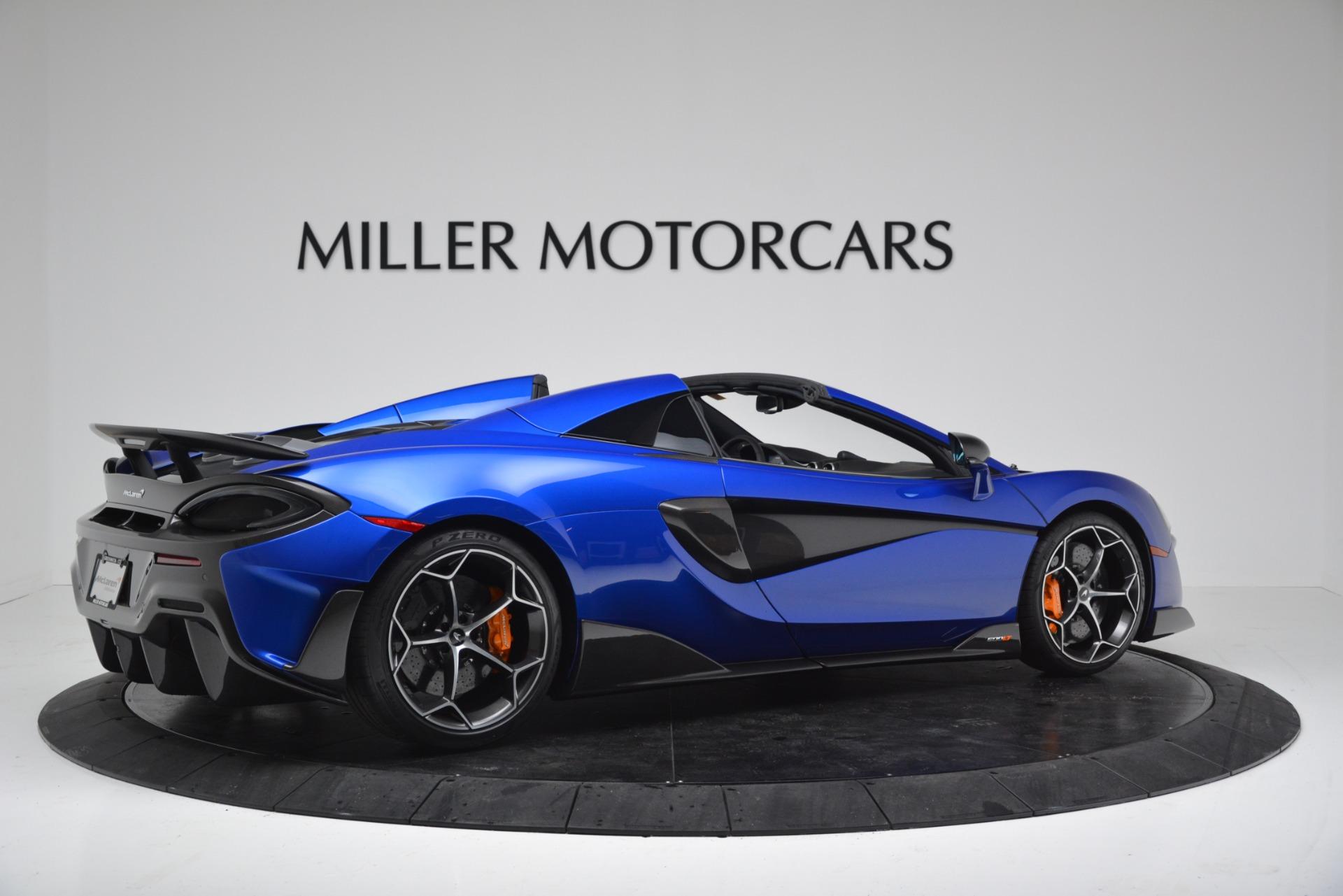 New 2020 McLaren 600LT Spider Convertible For Sale In Greenwich, CT. Alfa Romeo of Greenwich, MC439 3309_p8