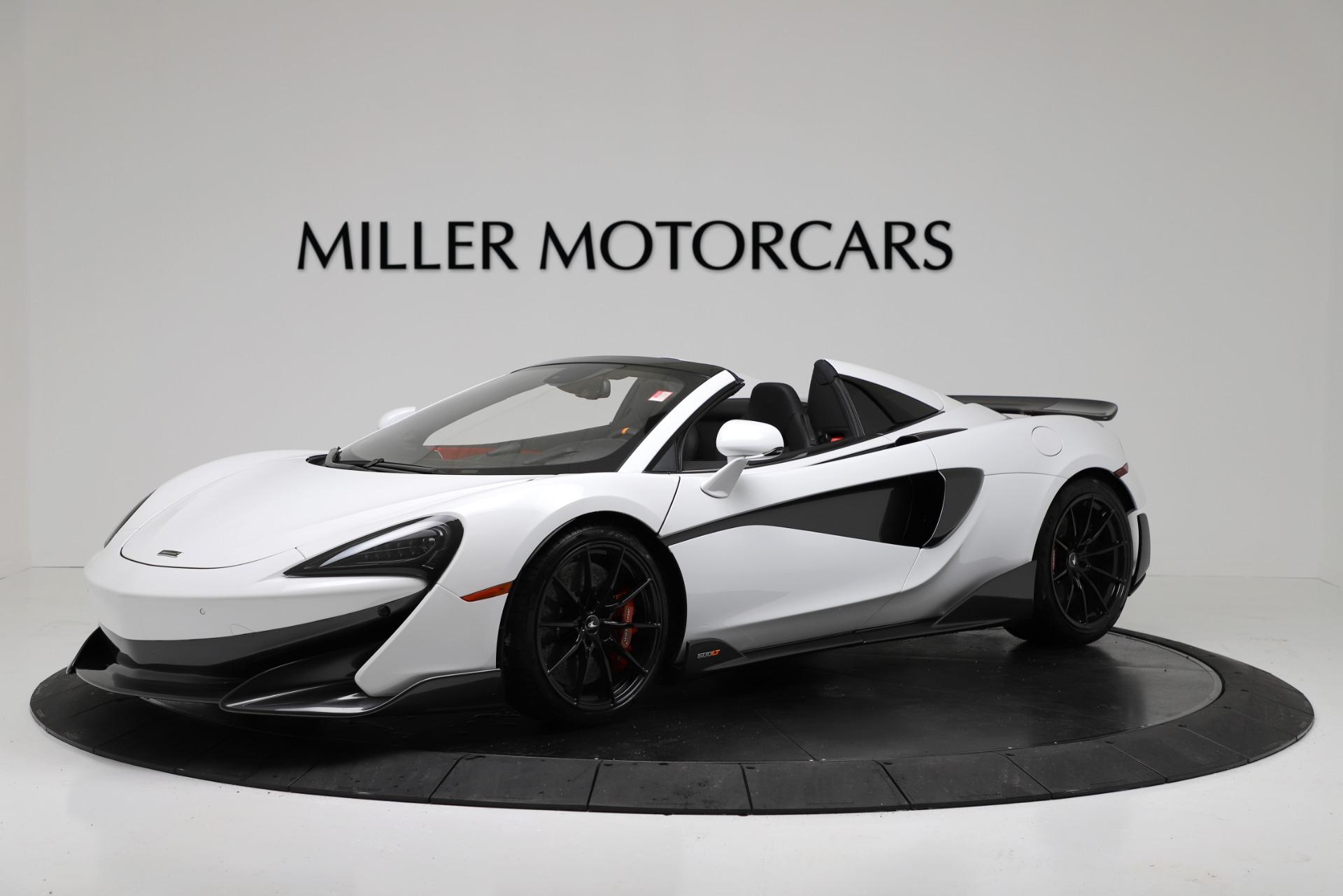 New 2020 McLaren 600LT Spider For Sale In Greenwich, CT. Alfa Romeo of Greenwich, MC433 3314_main