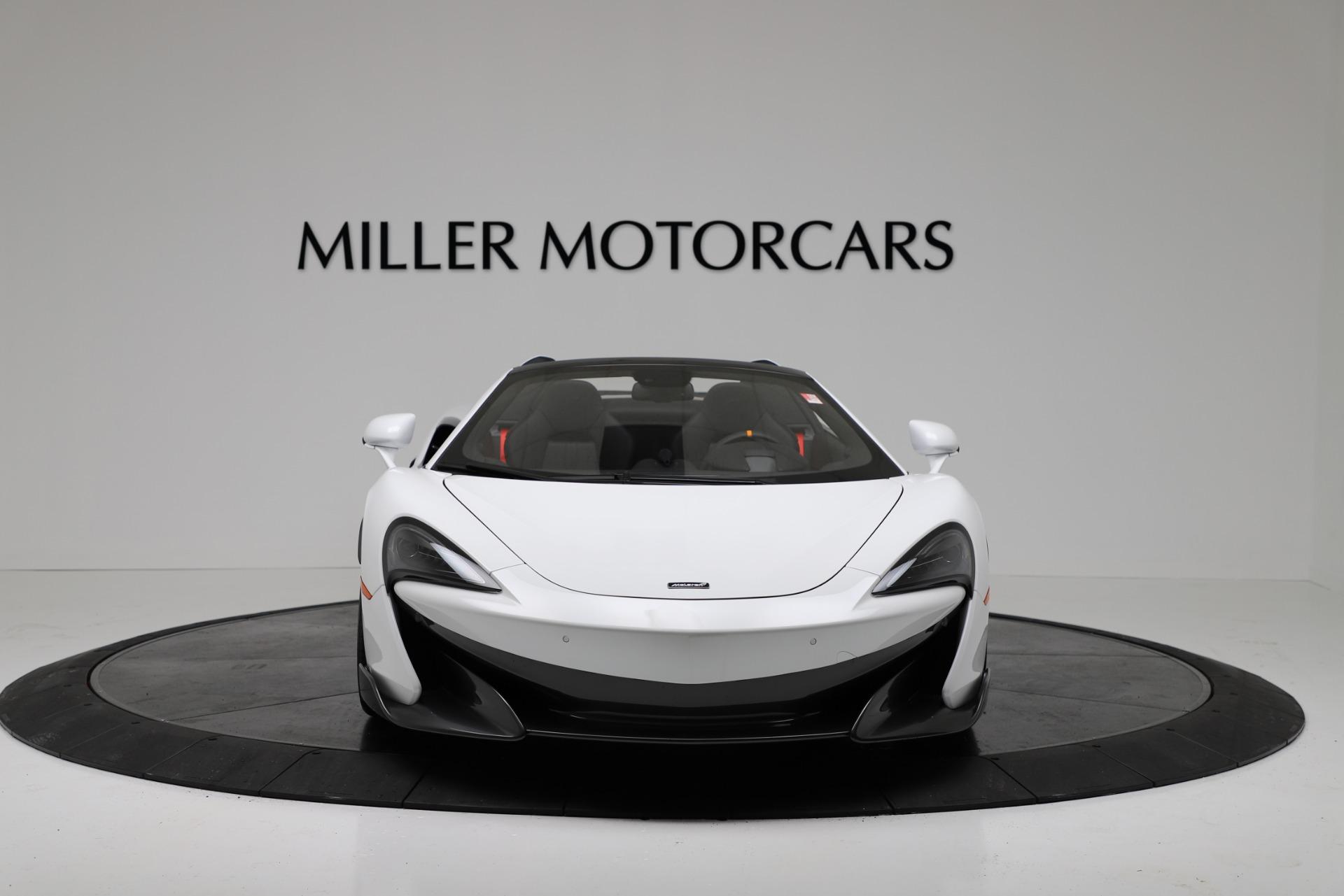 New 2020 McLaren 600LT Spider For Sale In Greenwich, CT. Alfa Romeo of Greenwich, MC433 3314_p12