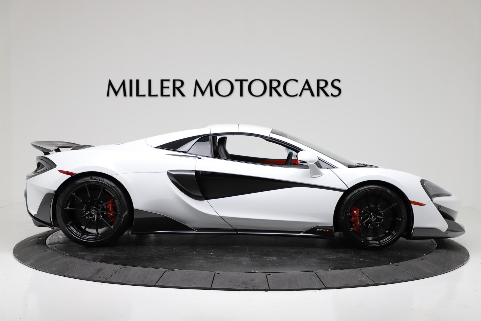 New 2020 McLaren 600LT Spider For Sale In Greenwich, CT. Alfa Romeo of Greenwich, MC433 3314_p17