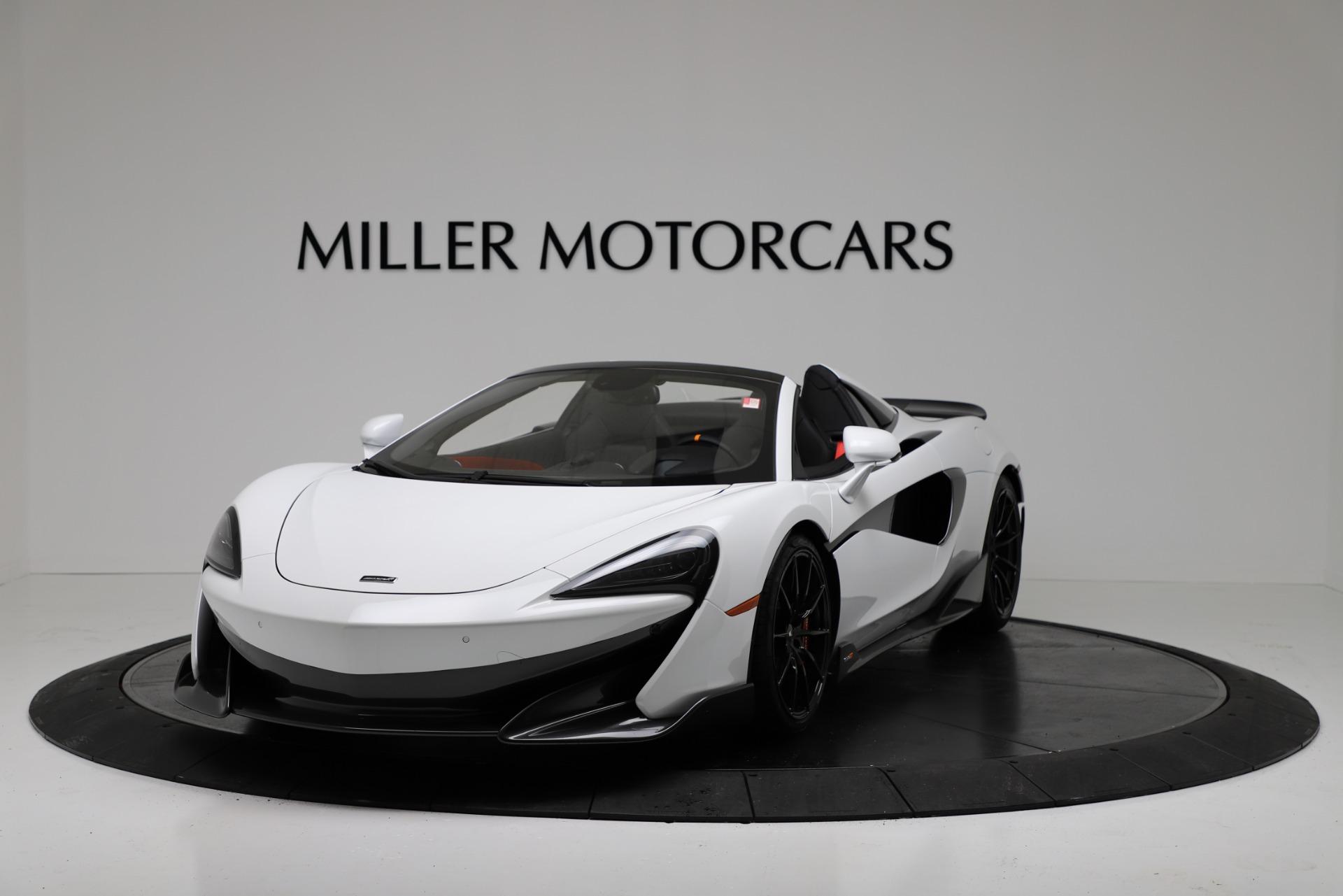 New 2020 McLaren 600LT Spider For Sale In Greenwich, CT. Alfa Romeo of Greenwich, MC433 3314_p2