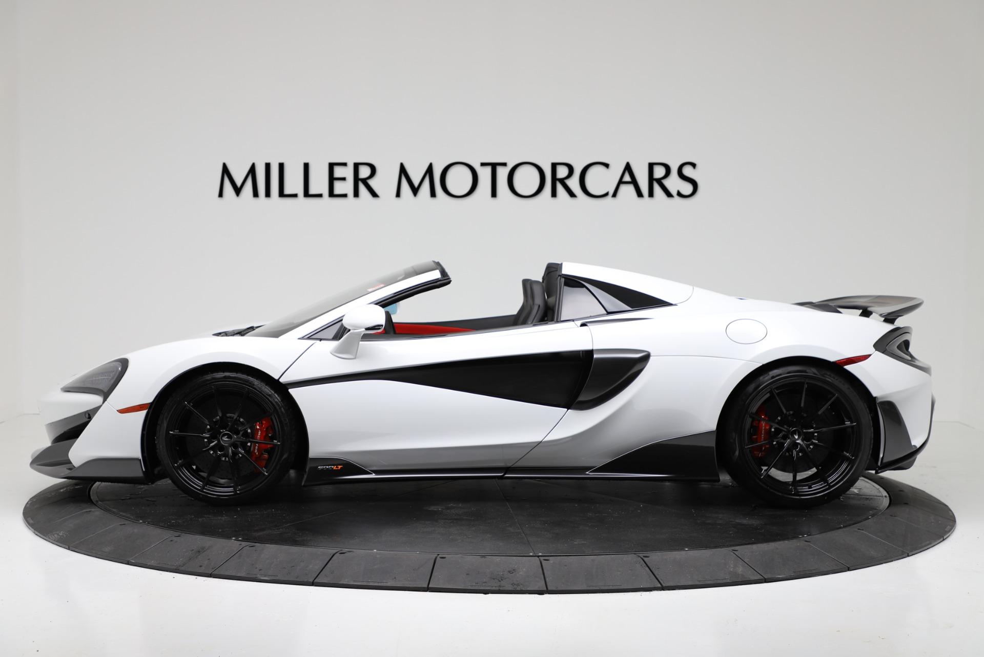 New 2020 McLaren 600LT Spider For Sale In Greenwich, CT. Alfa Romeo of Greenwich, MC433 3314_p3