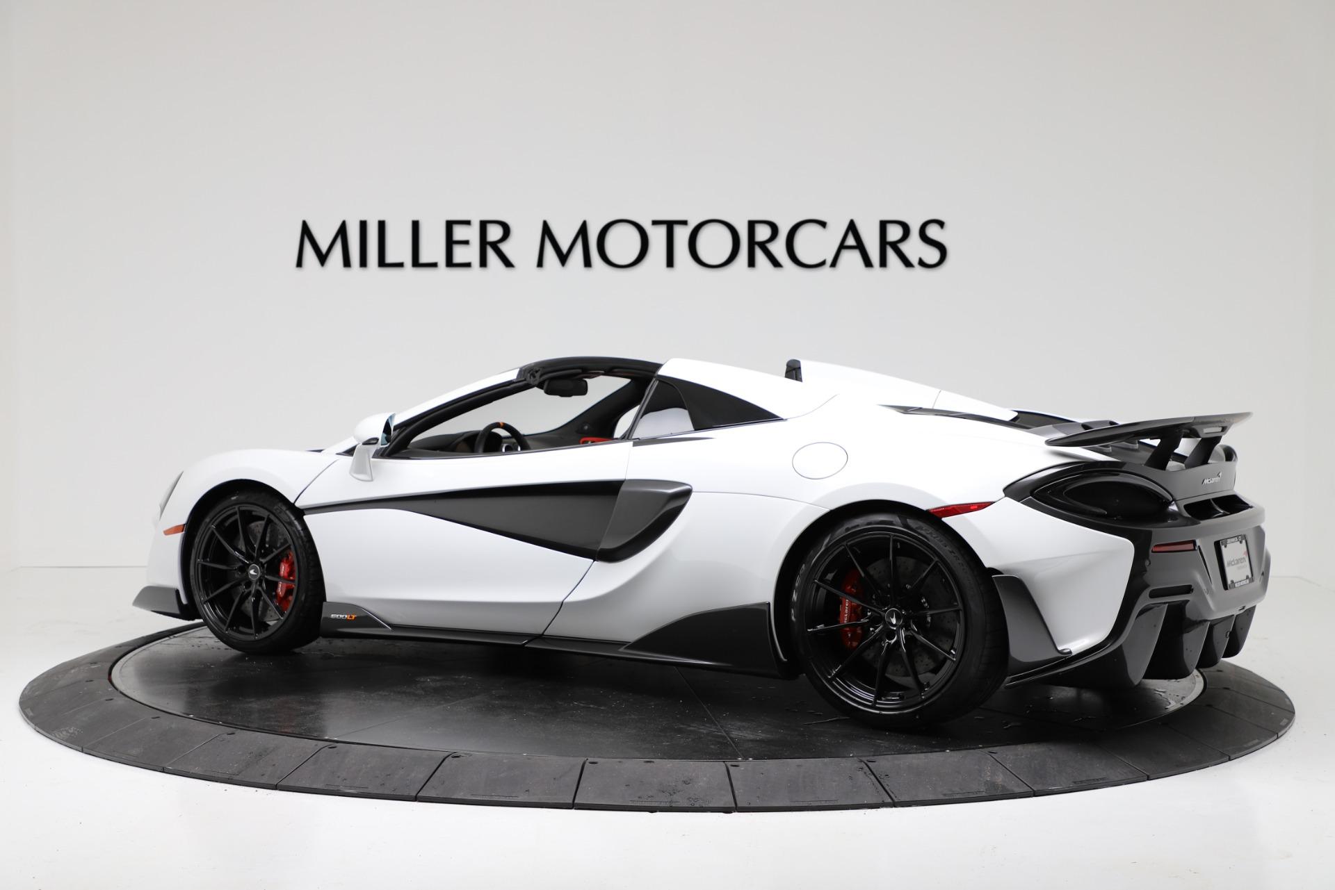 New 2020 McLaren 600LT Spider For Sale In Greenwich, CT. Alfa Romeo of Greenwich, MC433 3314_p4