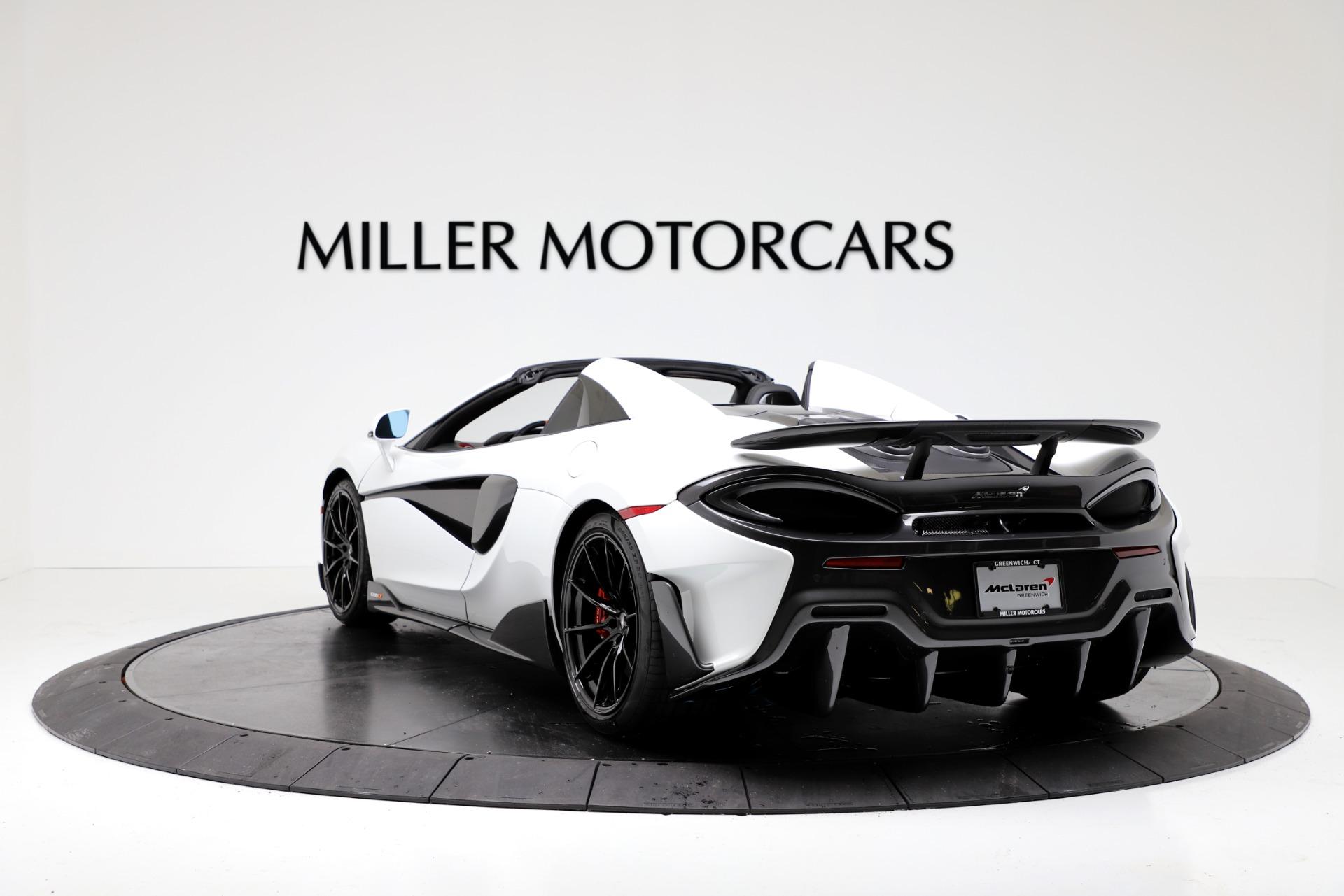 New 2020 McLaren 600LT Spider For Sale In Greenwich, CT. Alfa Romeo of Greenwich, MC433 3314_p5
