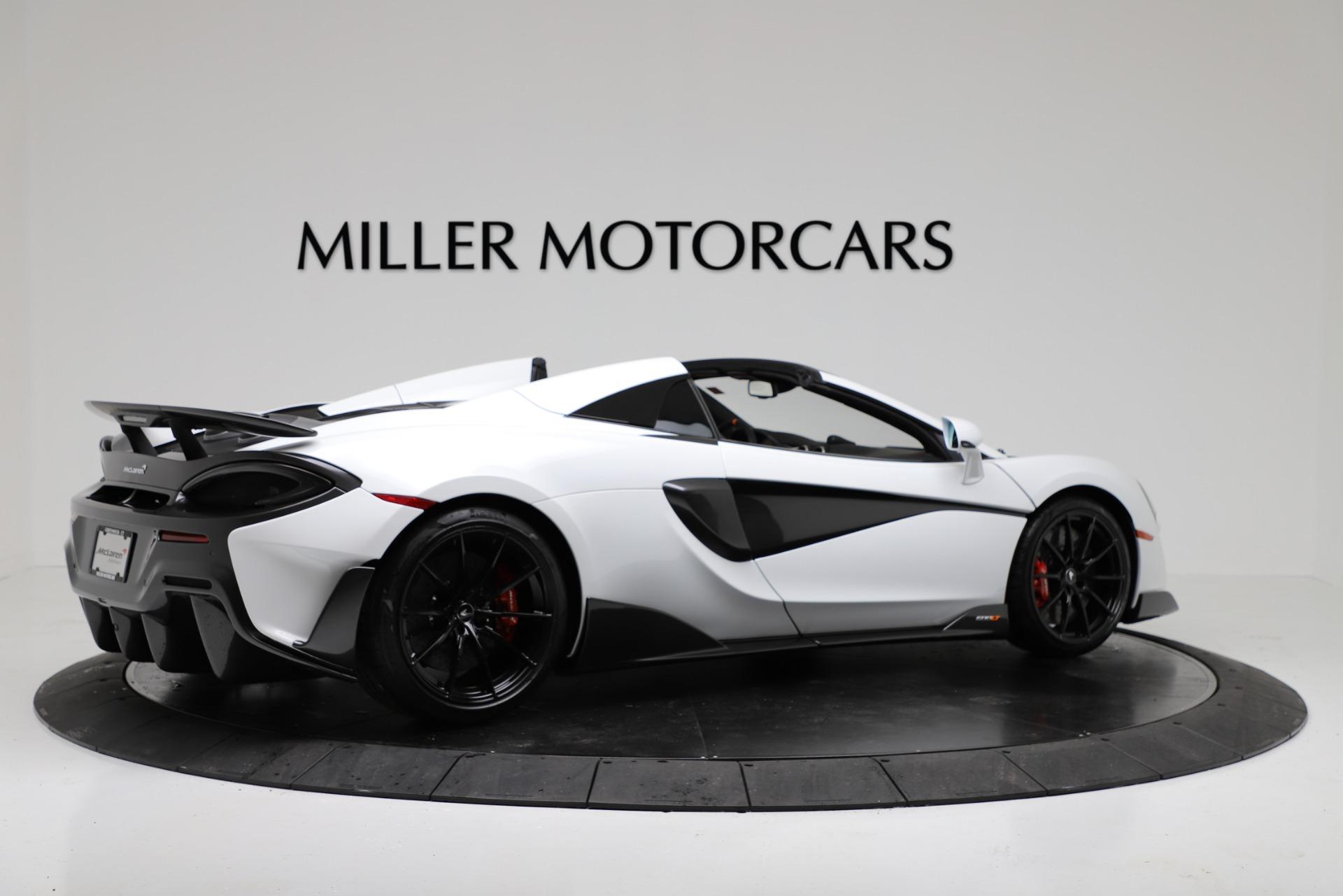 New 2020 McLaren 600LT Spider For Sale In Greenwich, CT. Alfa Romeo of Greenwich, MC433 3314_p8