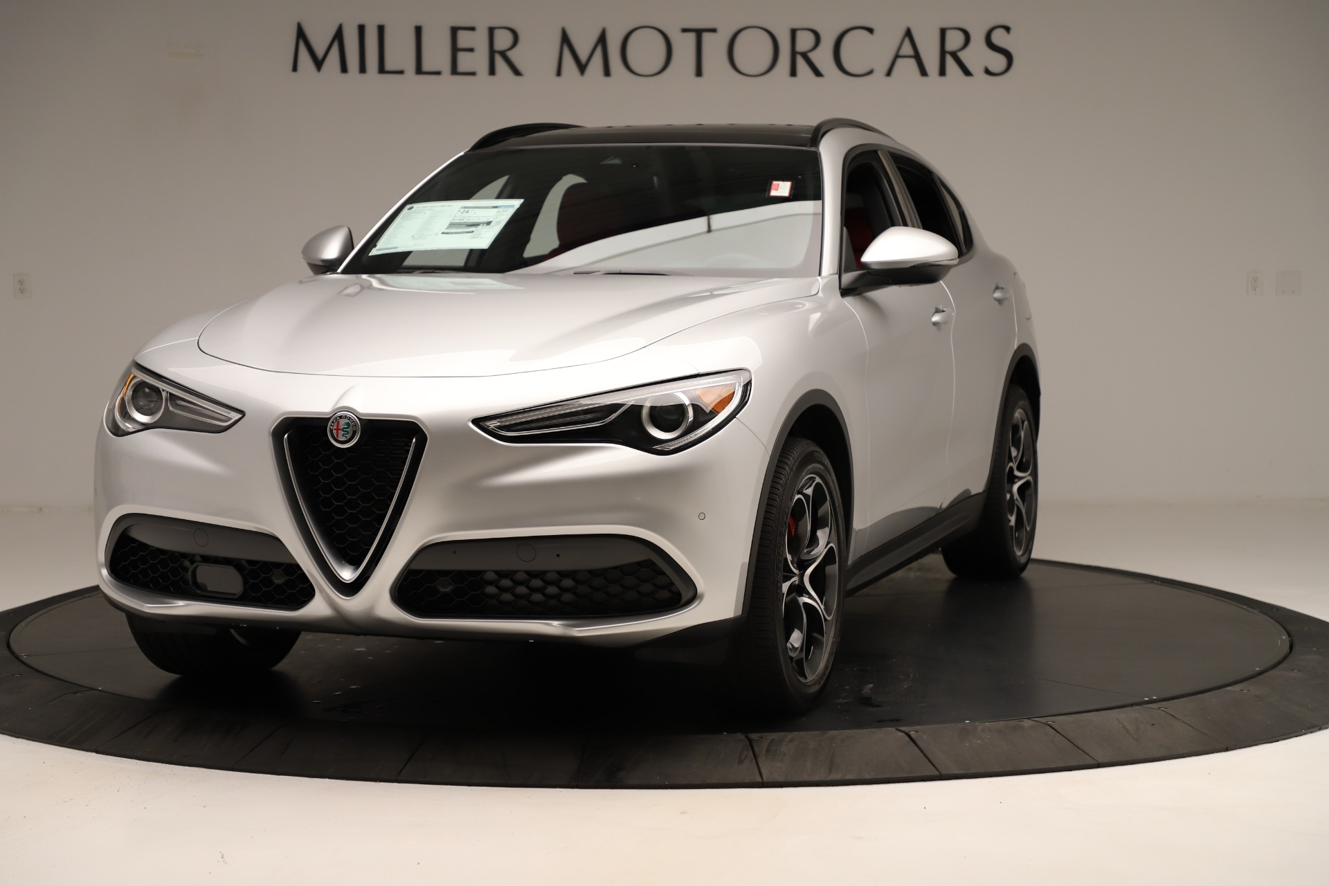 New 2019 Alfa Romeo Stelvio Ti Sport Q4 For Sale In Greenwich, CT. Alfa Romeo of Greenwich, LW361