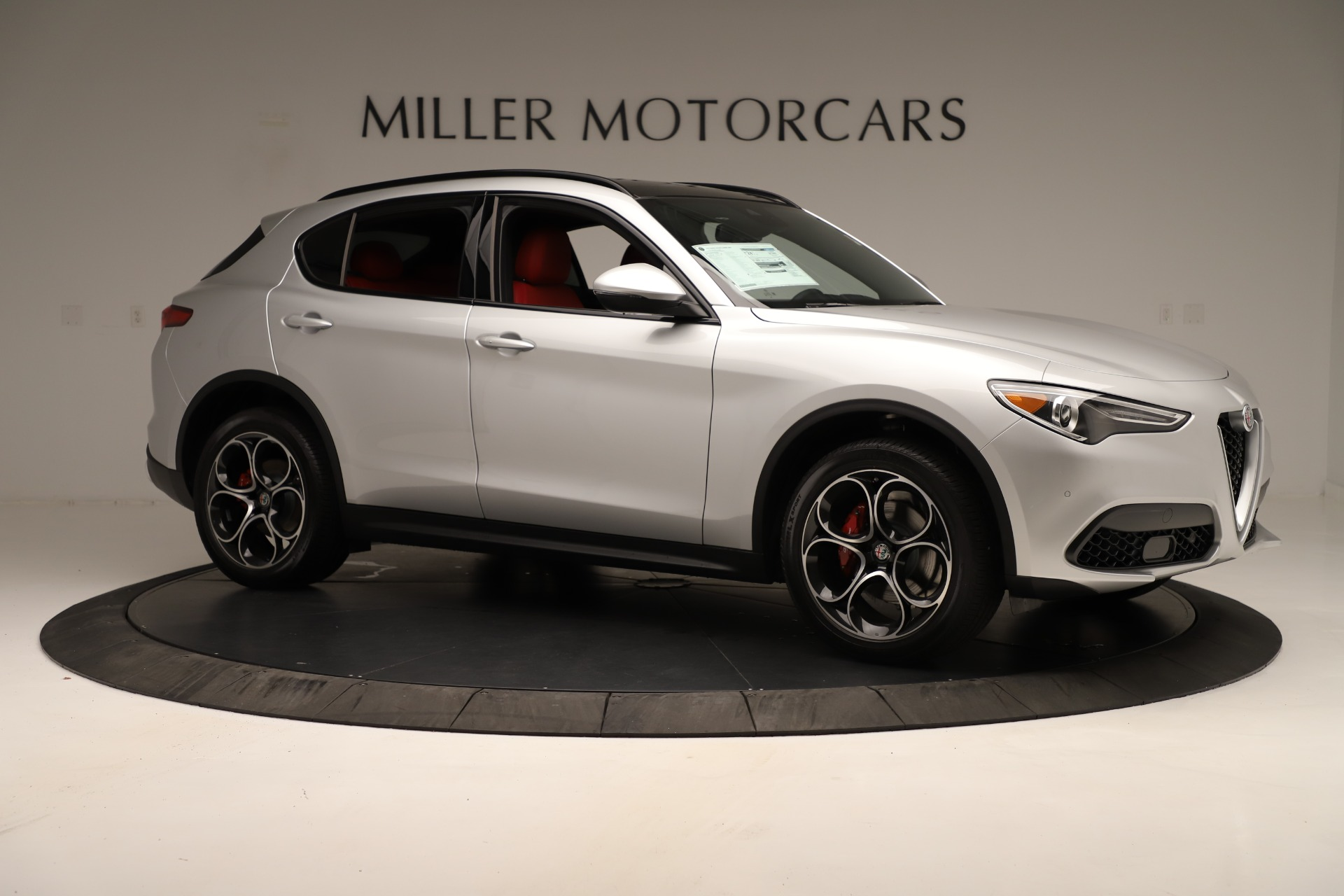 New 2019 Alfa Romeo Stelvio Ti Sport Q4 For Sale In Greenwich, CT. Alfa Romeo of Greenwich, LW361 3323_p10