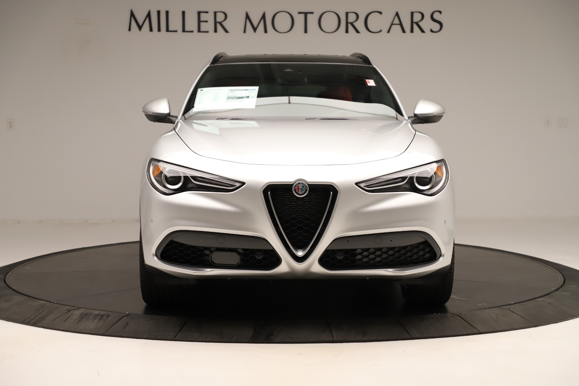 New 2019 Alfa Romeo Stelvio Ti Sport Q4 For Sale In Greenwich, CT. Alfa Romeo of Greenwich, LW361 3323_p12