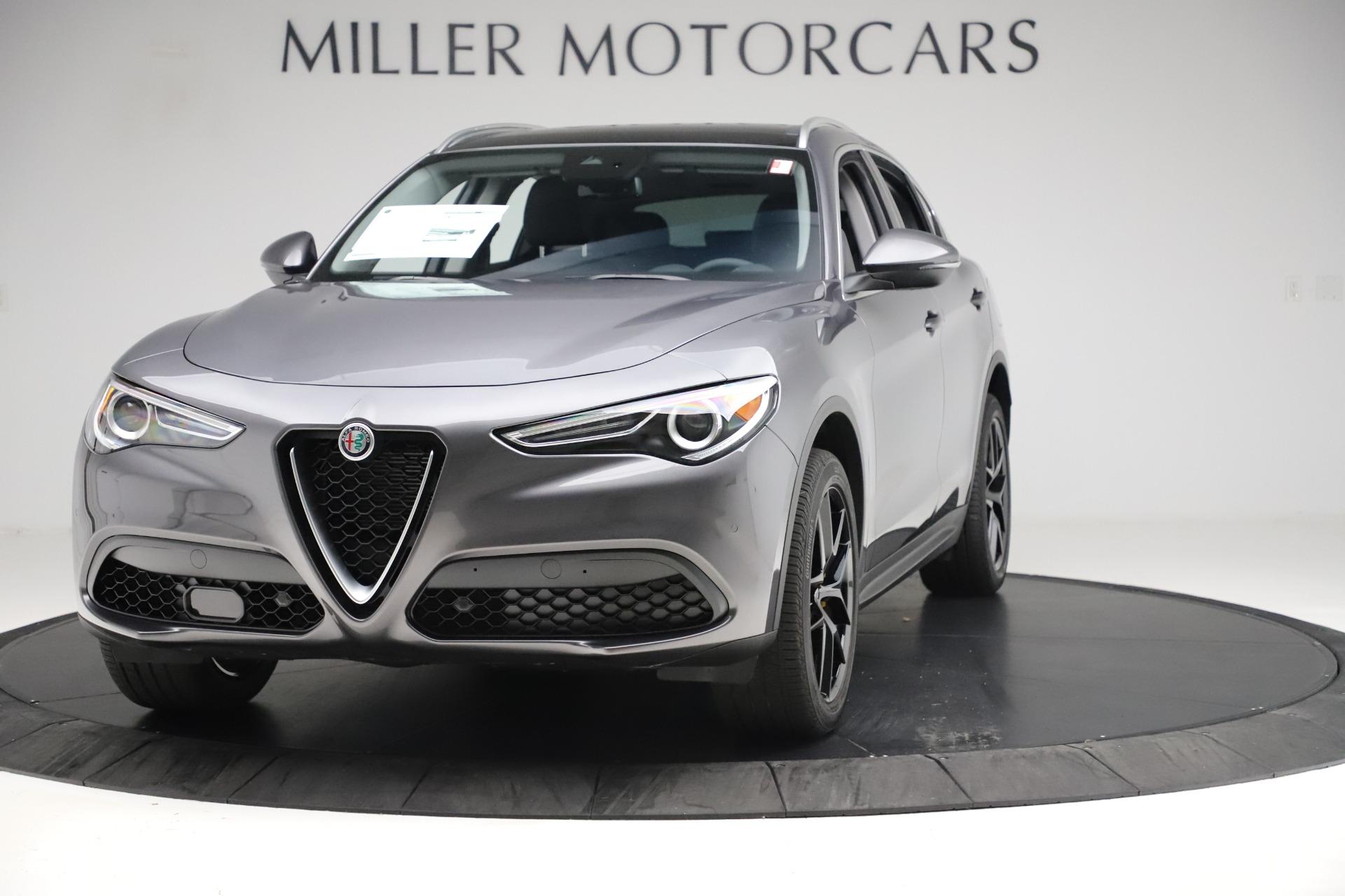 New 2019 Alfa Romeo Stelvio Ti Q4 For Sale In Greenwich, CT. Alfa Romeo of Greenwich, L655 3326_main
