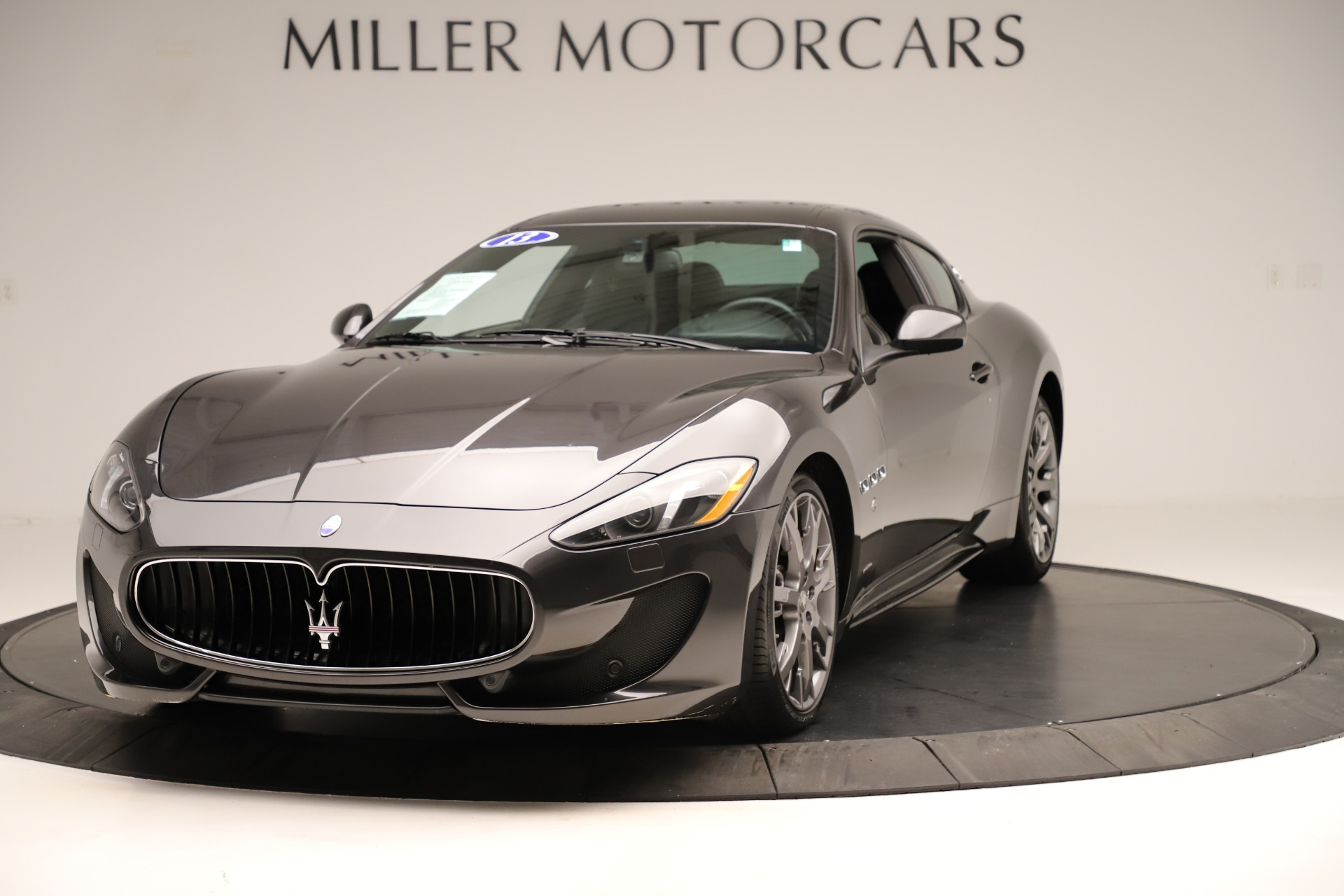 Used 2013 Maserati GranTurismo Sport For Sale In Greenwich, CT. Alfa Romeo of Greenwich, 7598 3327_main