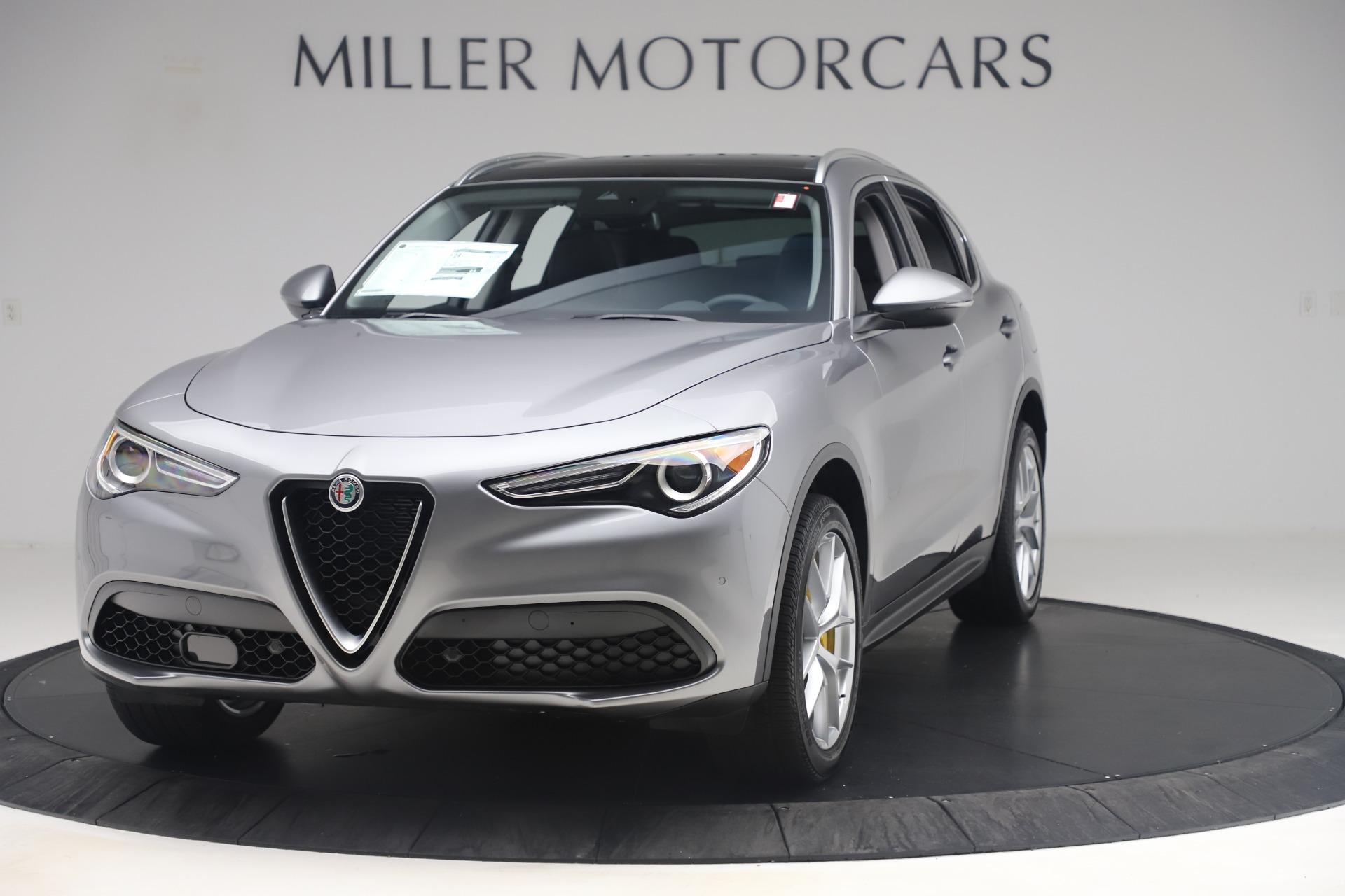 New 2019 Alfa Romeo Stelvio Ti Lusso Q4 For Sale In Greenwich, CT. Alfa Romeo of Greenwich, LW356 3333_main