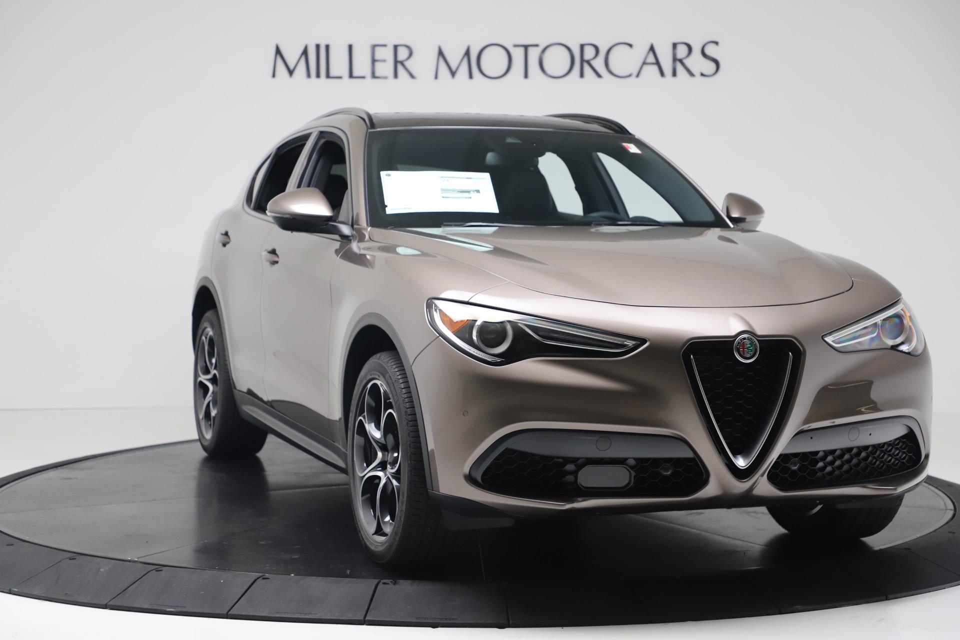 New 2019 Alfa Romeo Stelvio Ti Sport Q4 For Sale In Greenwich, CT. Alfa Romeo of Greenwich, LW359 3337_p11