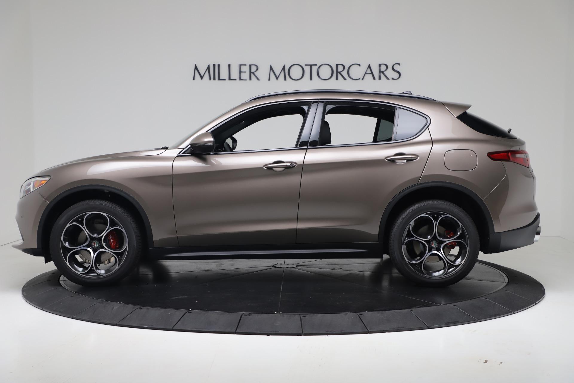 New 2019 Alfa Romeo Stelvio Ti Sport Q4 For Sale In Greenwich, CT. Alfa Romeo of Greenwich, LW359 3337_p3