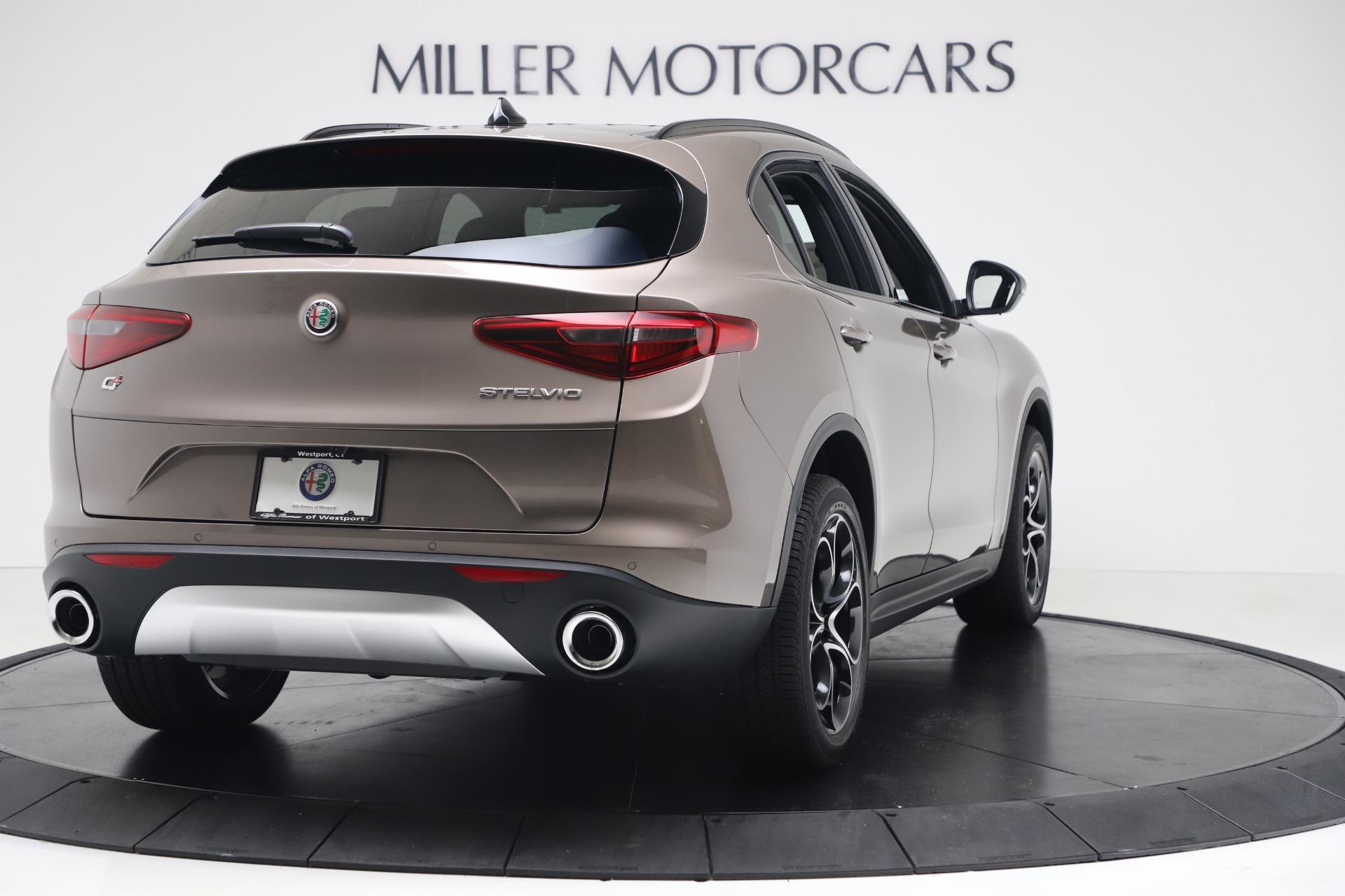 New 2019 Alfa Romeo Stelvio Ti Sport Q4 For Sale In Greenwich, CT. Alfa Romeo of Greenwich, LW359 3337_p7