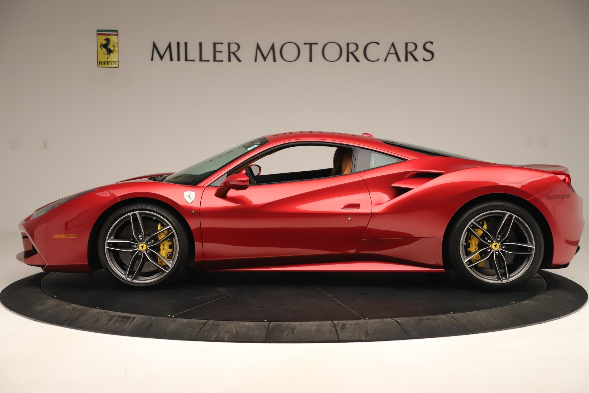 Used 2018 Ferrari 488 GTB  For Sale In Greenwich, CT. Alfa Romeo of Greenwich, F2001A 3362_p3