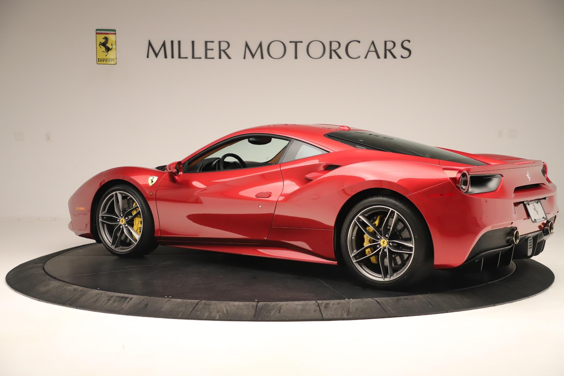 Used 2018 Ferrari 488 GTB  For Sale In Greenwich, CT. Alfa Romeo of Greenwich, F2001A 3362_p4