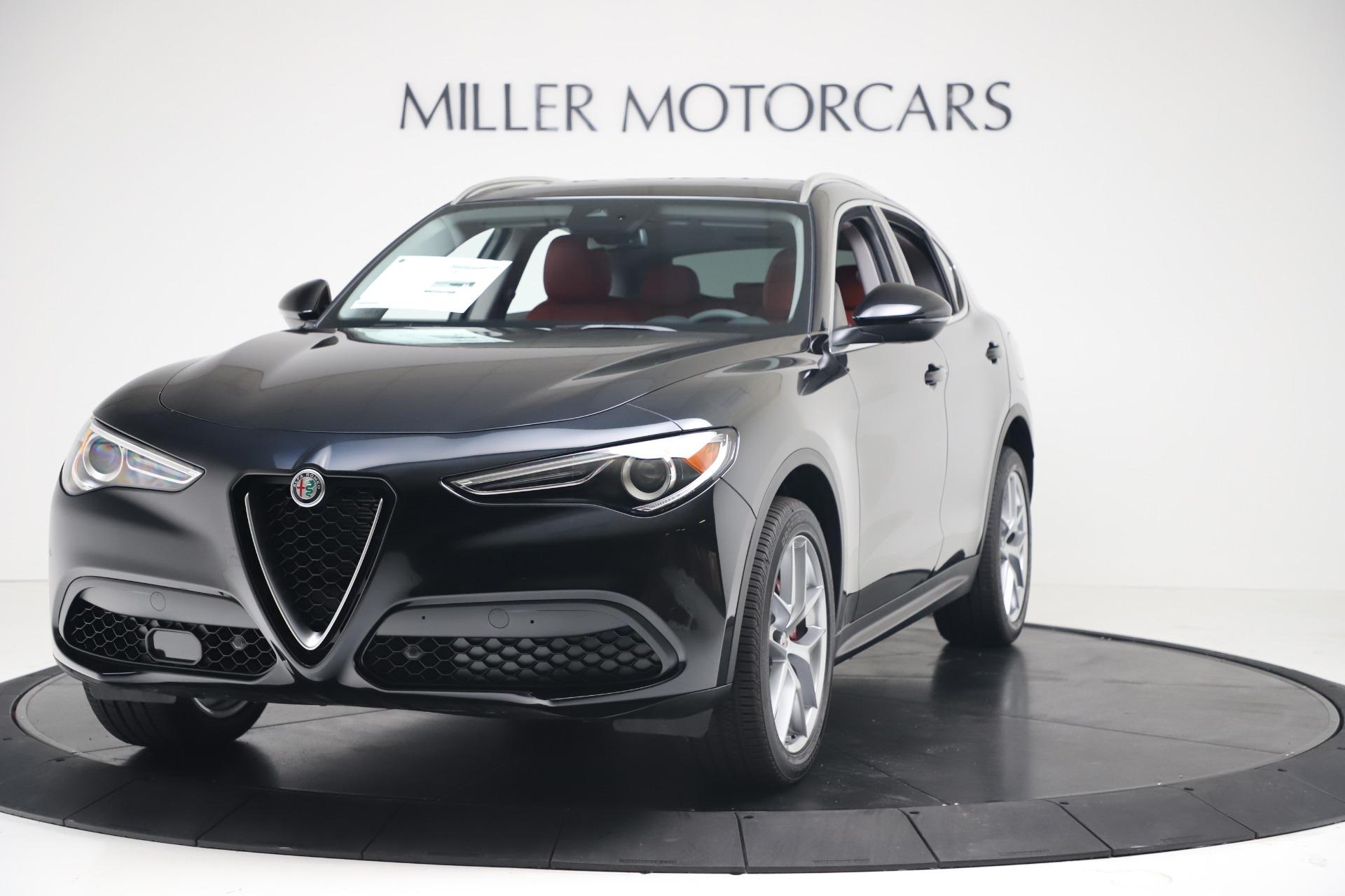 New 2019 Alfa Romeo Stelvio Ti Q4 For Sale In Greenwich, CT. Alfa Romeo of Greenwich, LW373 3363_main