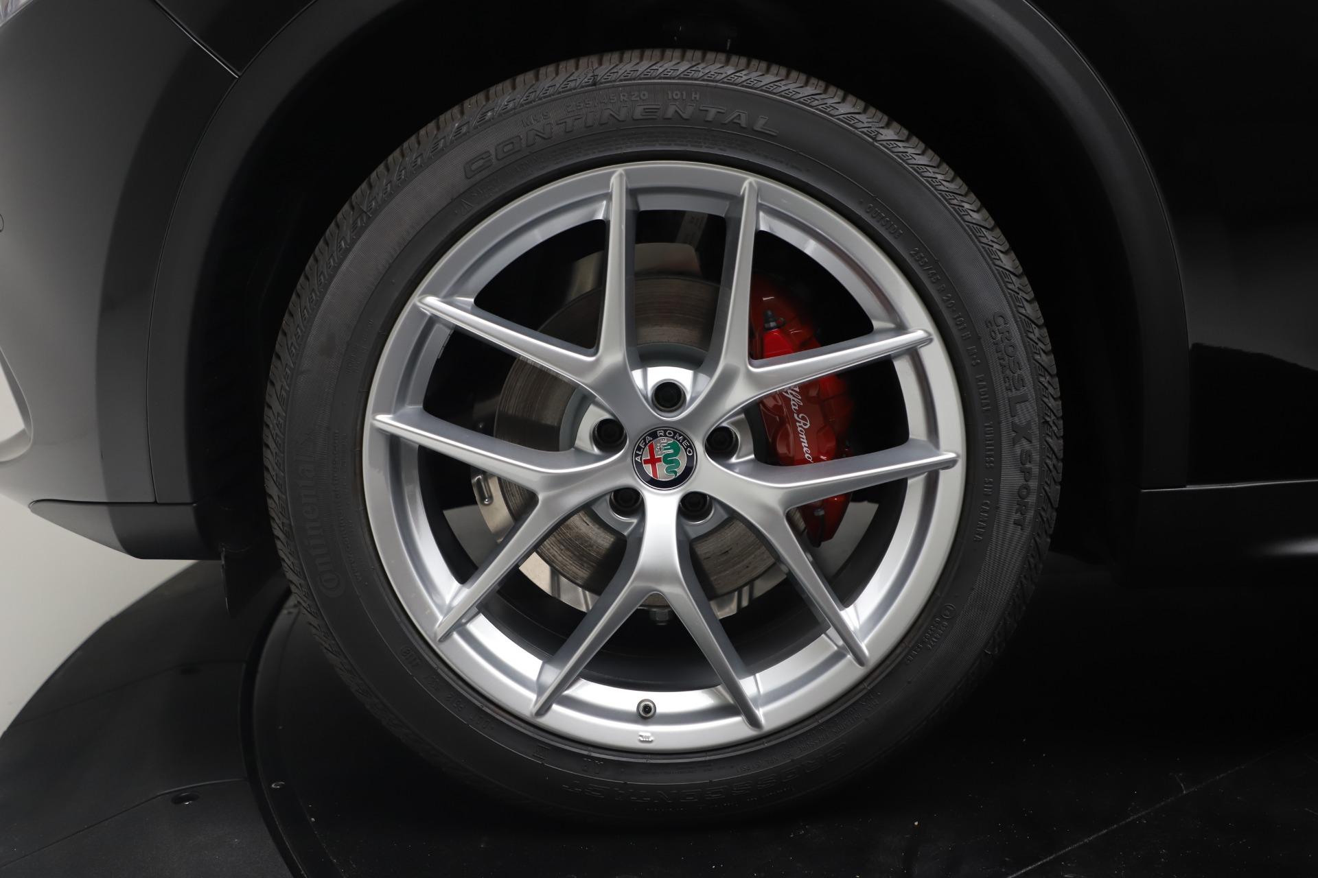 New 2019 Alfa Romeo Stelvio Ti Q4 For Sale In Greenwich, CT. Alfa Romeo of Greenwich, LW373 3363_p30