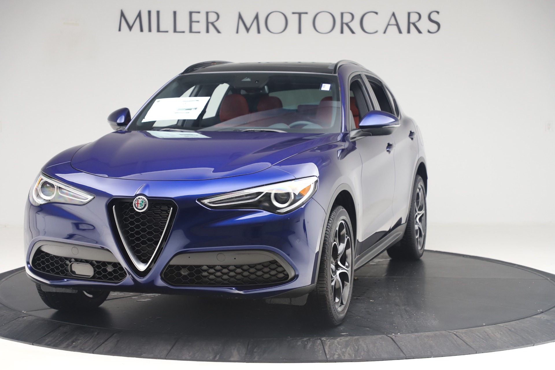 New 2019 Alfa Romeo Stelvio Ti Sport Q4 For Sale In Greenwich, CT. Alfa Romeo of Greenwich, LW376