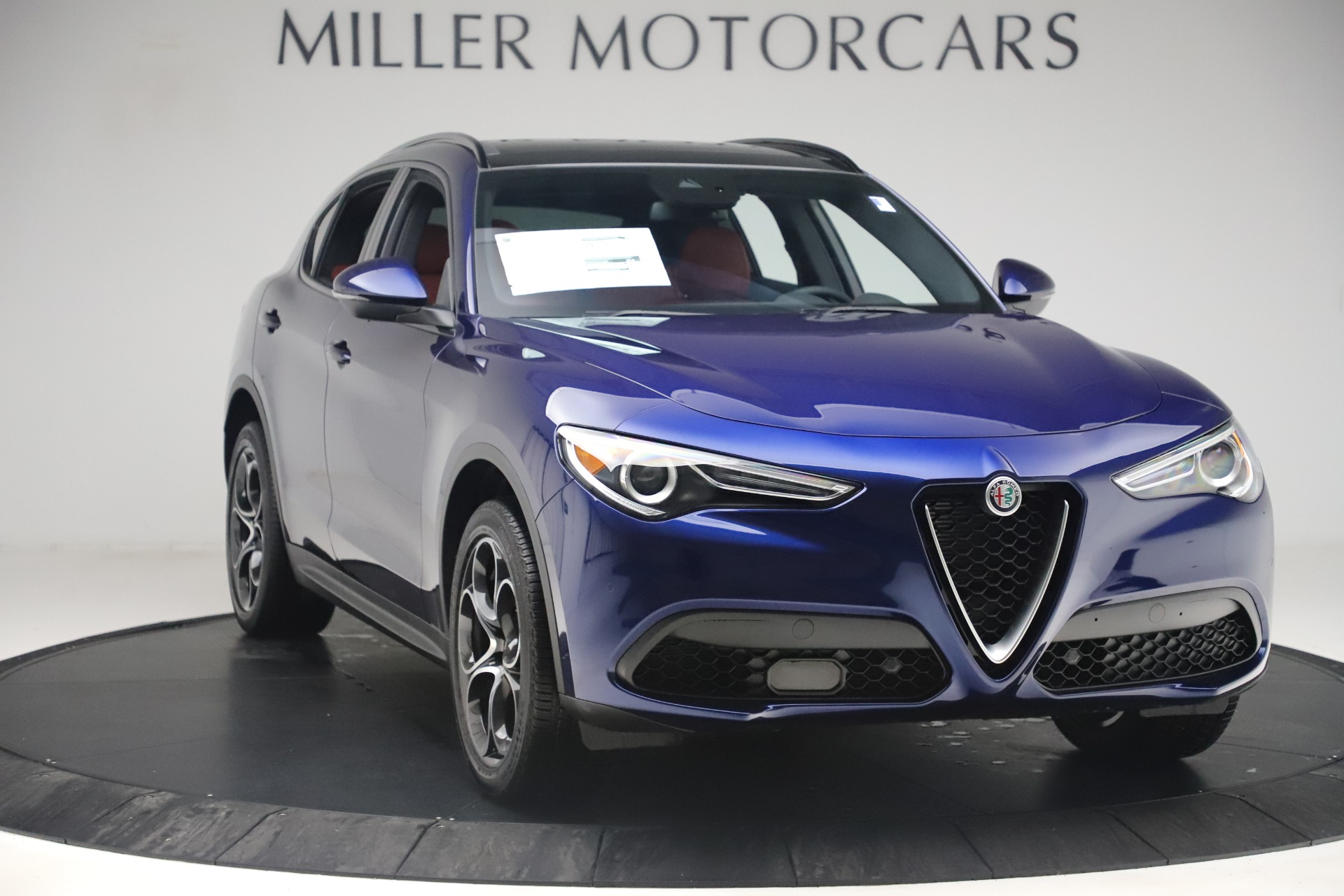New 2019 Alfa Romeo Stelvio Ti Sport Q4 For Sale In Greenwich, CT. Alfa Romeo of Greenwich, LW376 3364_p11