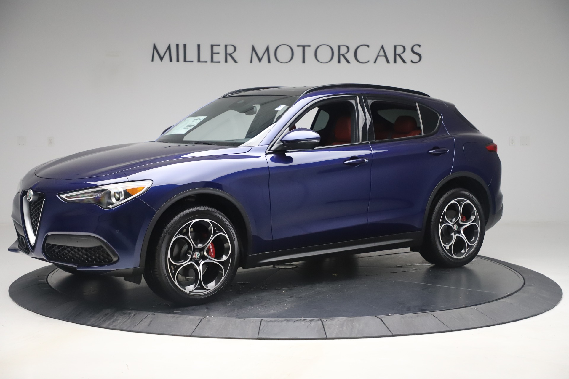 New 2019 Alfa Romeo Stelvio Ti Sport Q4 For Sale In Greenwich, CT. Alfa Romeo of Greenwich, LW376 3364_p2