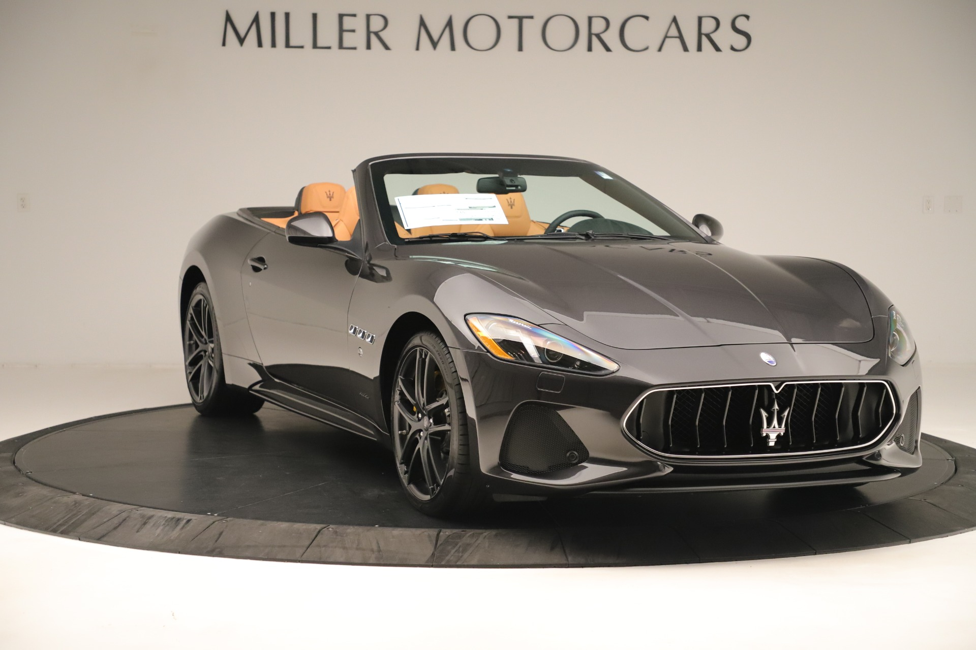 New 2019 Maserati GranTurismo Sport Convertible For Sale In Greenwich, CT. Alfa Romeo of Greenwich, W695 3367_p11