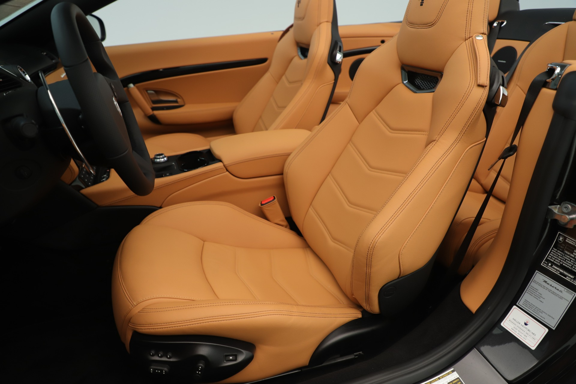 New 2019 Maserati GranTurismo Sport Convertible For Sale In Greenwich, CT. Alfa Romeo of Greenwich, W695 3367_p21