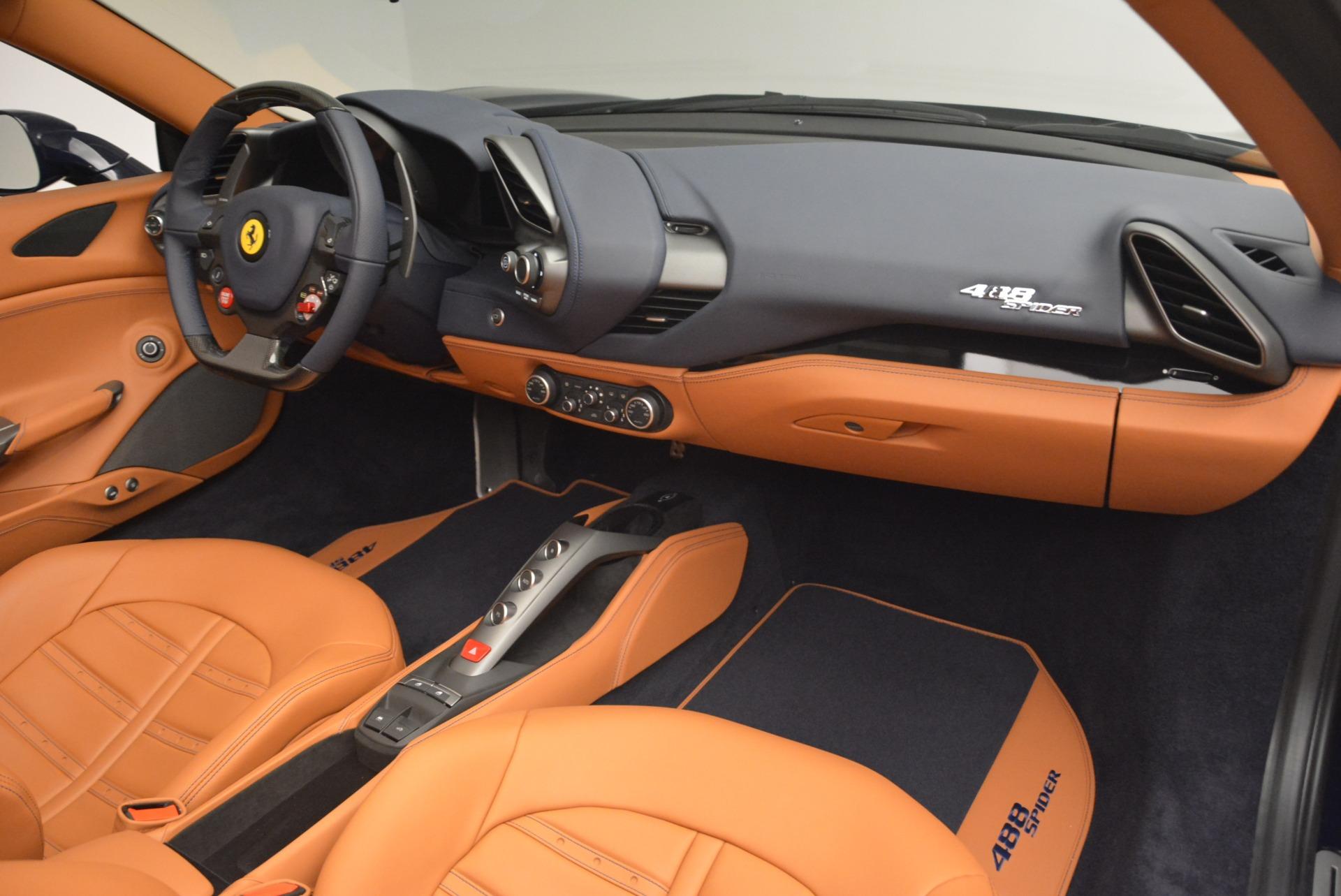 Used 2018 Ferrari 488 Spider  For Sale In Greenwich, CT. Alfa Romeo of Greenwich, 4597 3371_p29