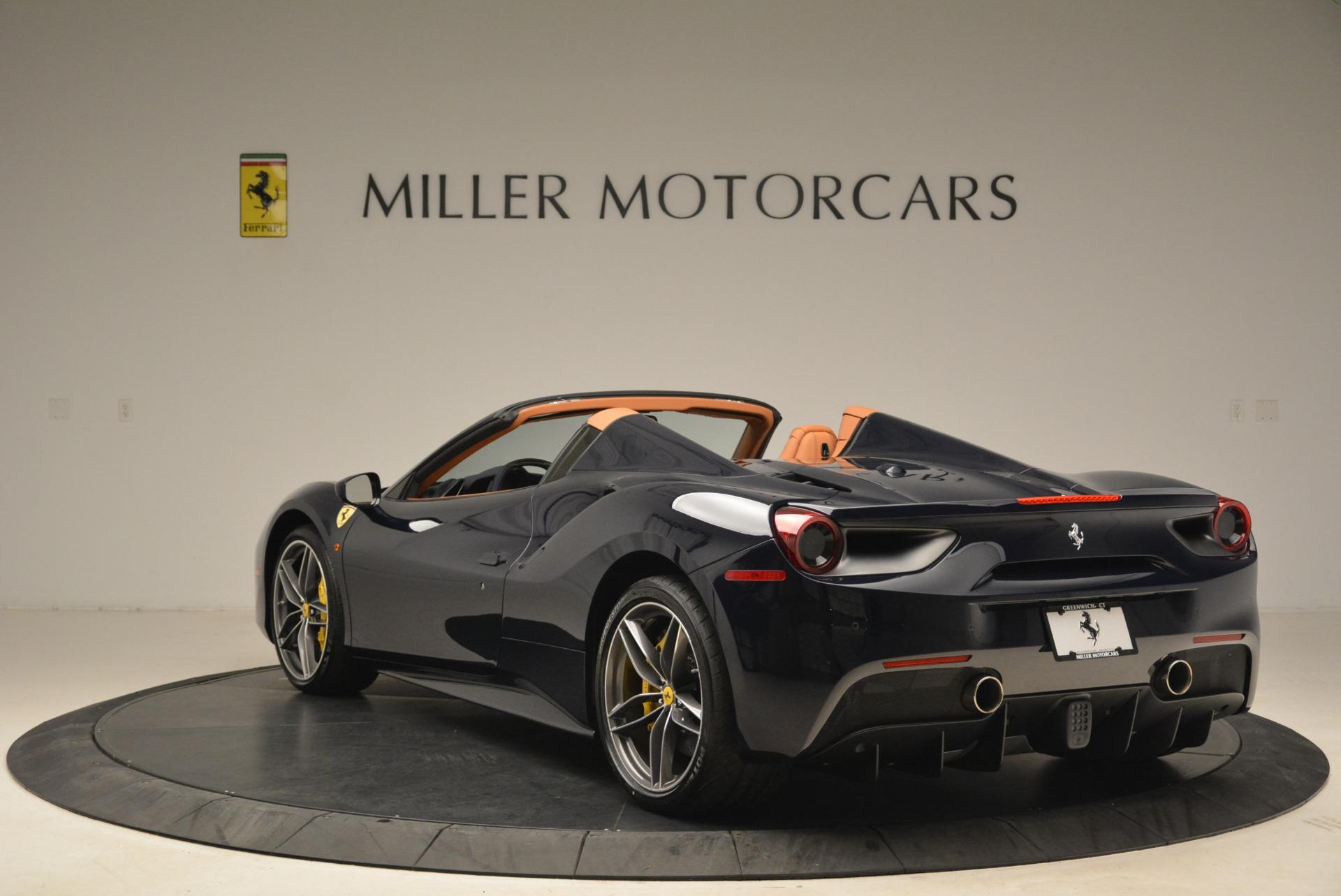 Used 2018 Ferrari 488 Spider  For Sale In Greenwich, CT. Alfa Romeo of Greenwich, 4597 3371_p5