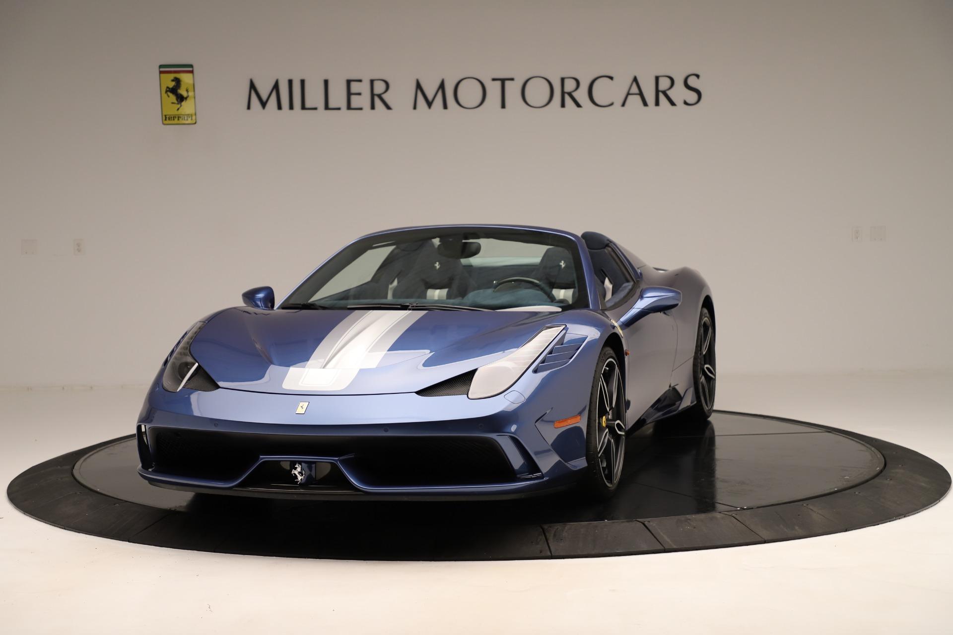 Used 2015 Ferrari 458 Speciale Aperta  For Sale In Greenwich, CT. Alfa Romeo of Greenwich, 4590 3372_main