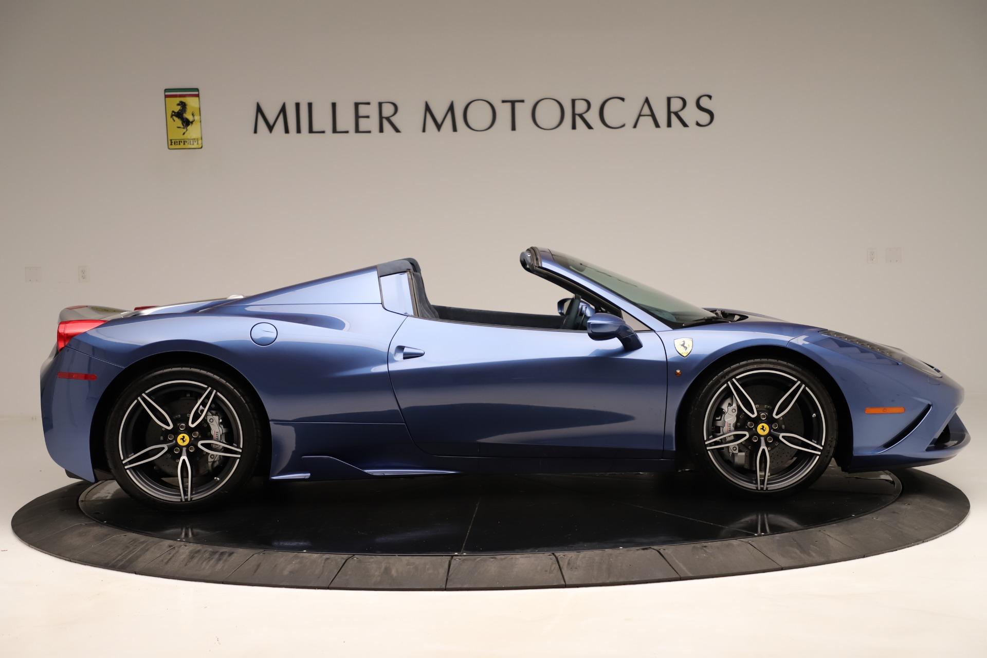 Used 2015 Ferrari 458 Speciale Aperta  For Sale In Greenwich, CT. Alfa Romeo of Greenwich, 4590 3372_p10