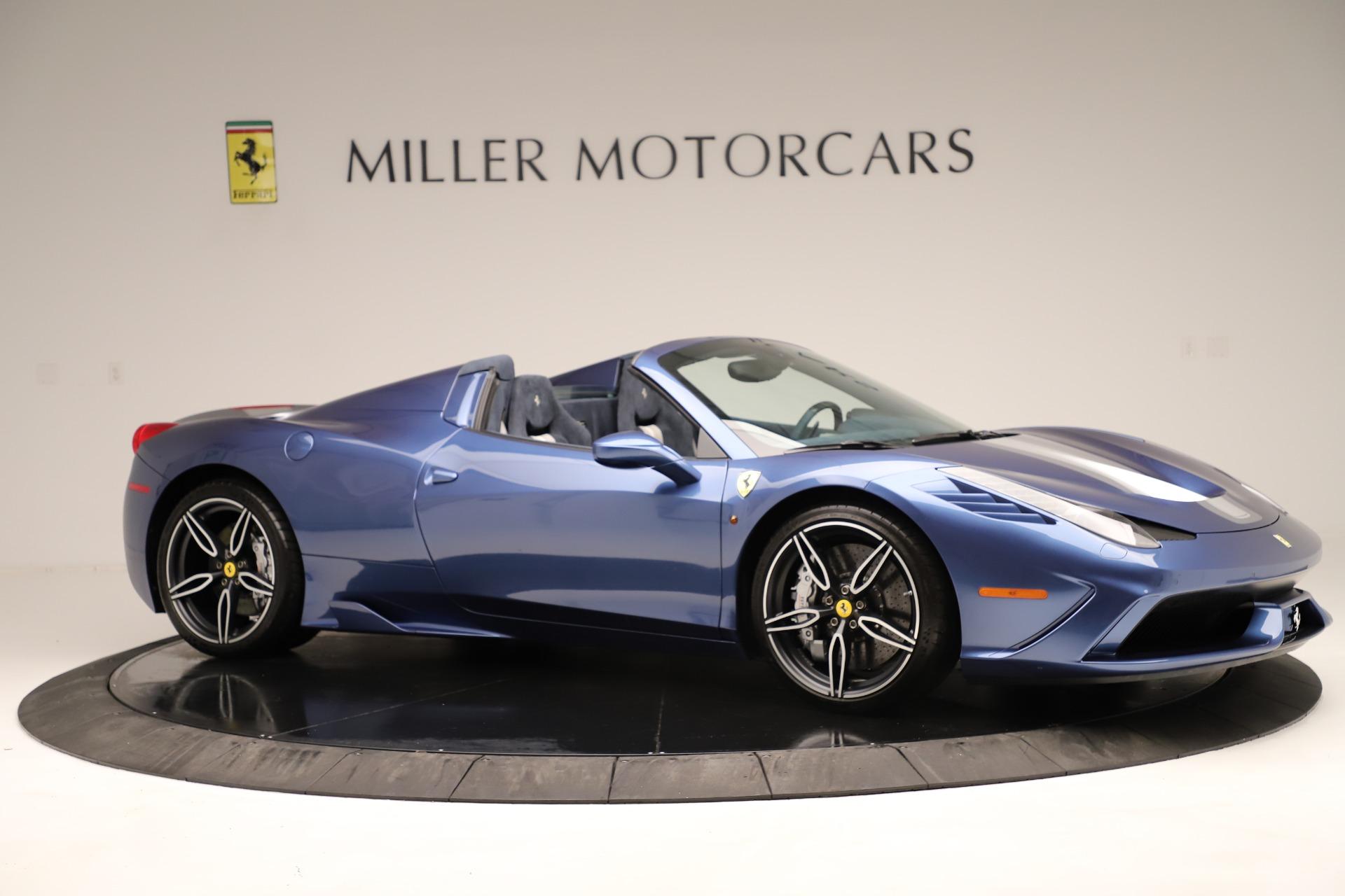 Used 2015 Ferrari 458 Speciale Aperta  For Sale In Greenwich, CT. Alfa Romeo of Greenwich, 4590 3372_p11