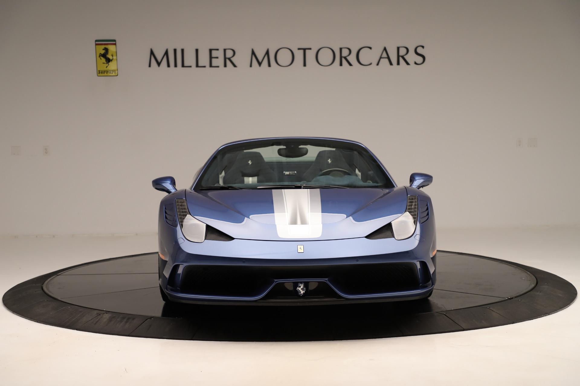 Used 2015 Ferrari 458 Speciale Aperta  For Sale In Greenwich, CT. Alfa Romeo of Greenwich, 4590 3372_p13
