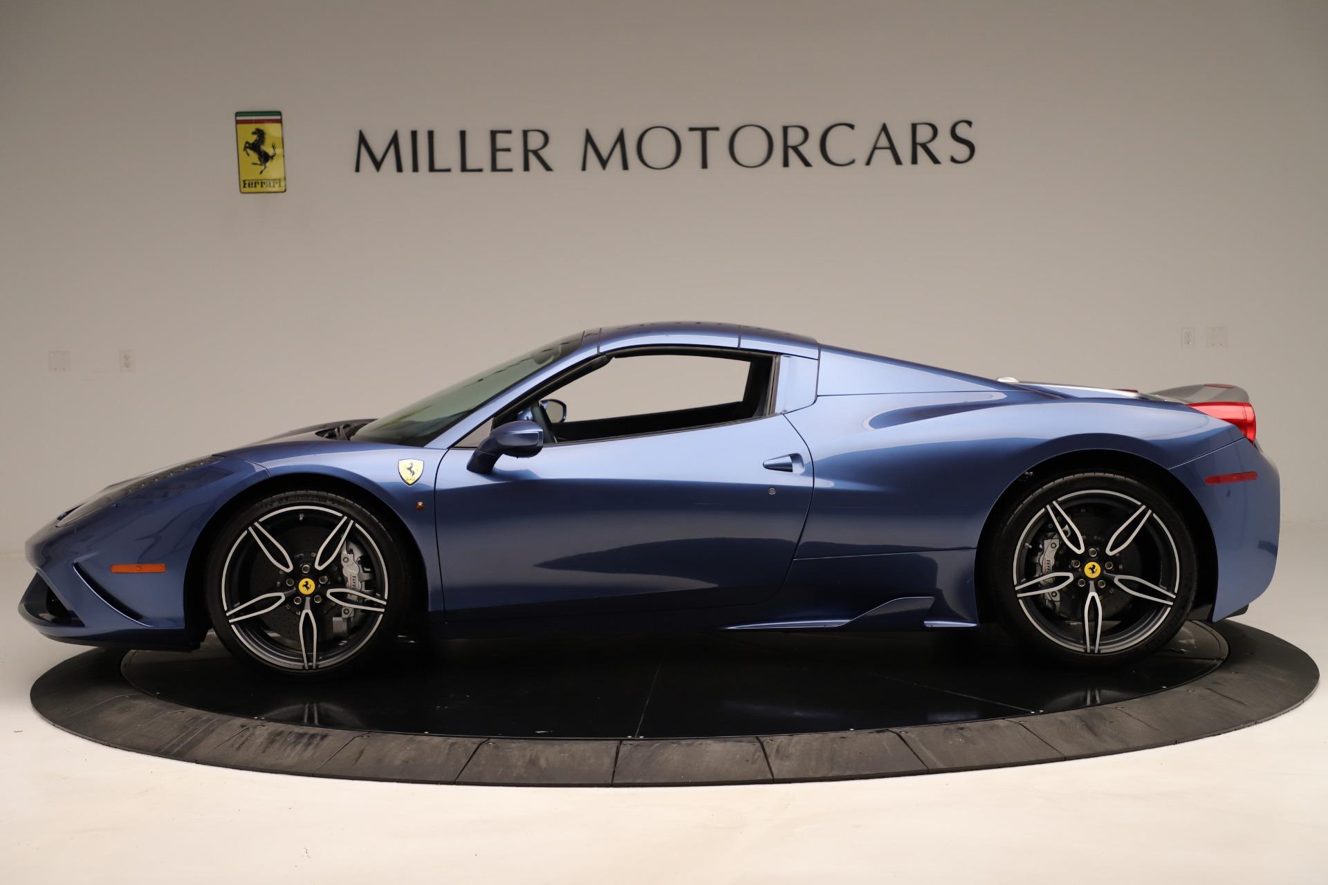 Used 2015 Ferrari 458 Speciale Aperta  For Sale In Greenwich, CT. Alfa Romeo of Greenwich, 4590 3372_p15