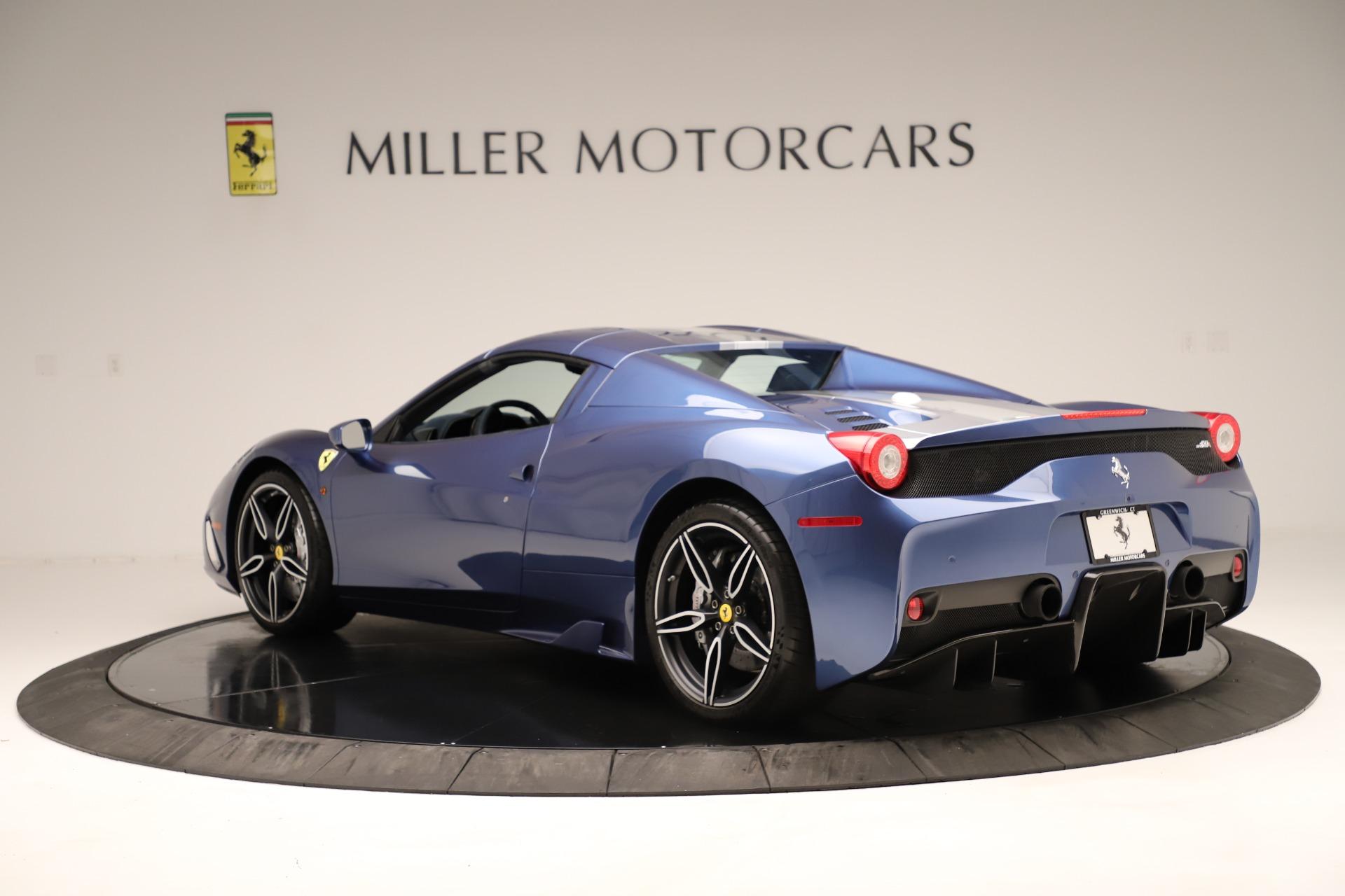 Used 2015 Ferrari 458 Speciale Aperta  For Sale In Greenwich, CT. Alfa Romeo of Greenwich, 4590 3372_p16