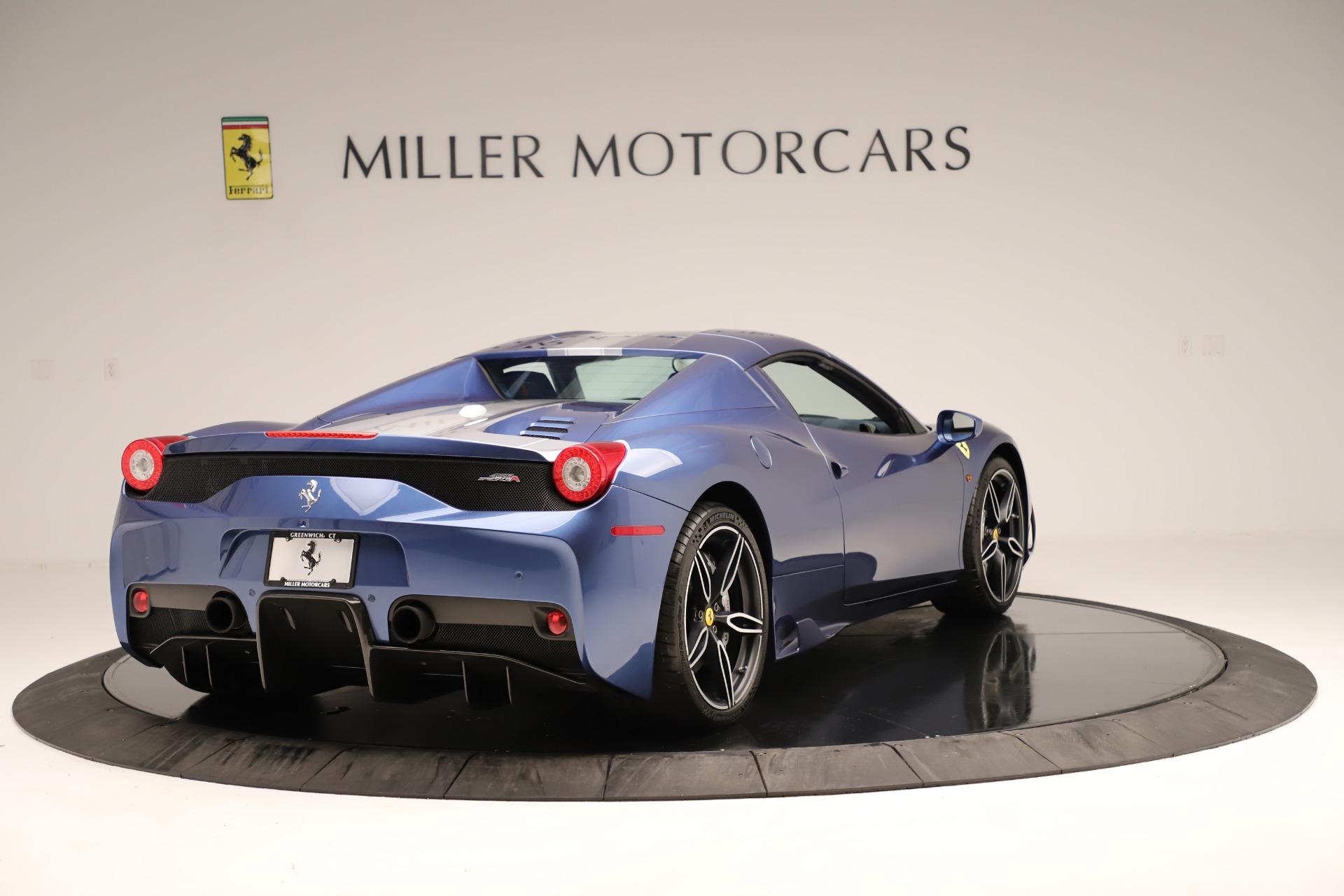 Used 2015 Ferrari 458 Speciale Aperta  For Sale In Greenwich, CT. Alfa Romeo of Greenwich, 4590 3372_p17