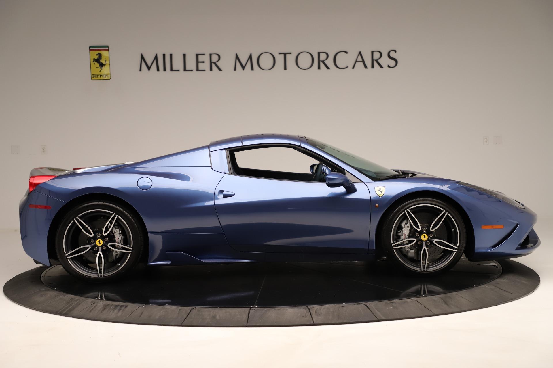 Used 2015 Ferrari 458 Speciale Aperta  For Sale In Greenwich, CT. Alfa Romeo of Greenwich, 4590 3372_p18
