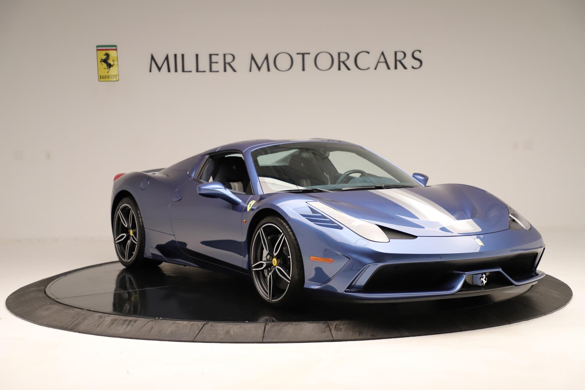 Used 2015 Ferrari 458 Speciale Aperta  For Sale In Greenwich, CT. Alfa Romeo of Greenwich, 4590 3372_p19