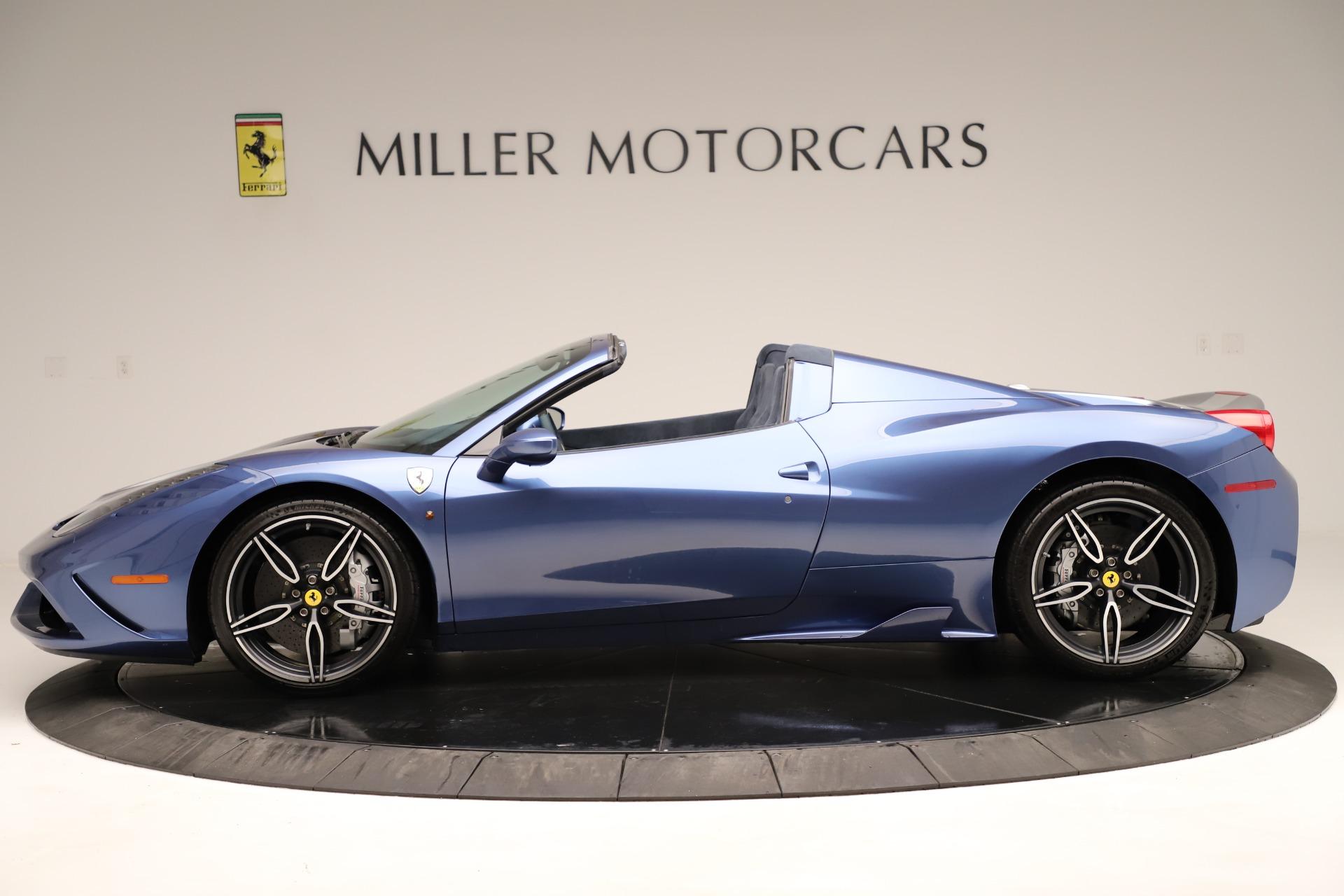 Used 2015 Ferrari 458 Speciale Aperta  For Sale In Greenwich, CT. Alfa Romeo of Greenwich, 4590 3372_p3