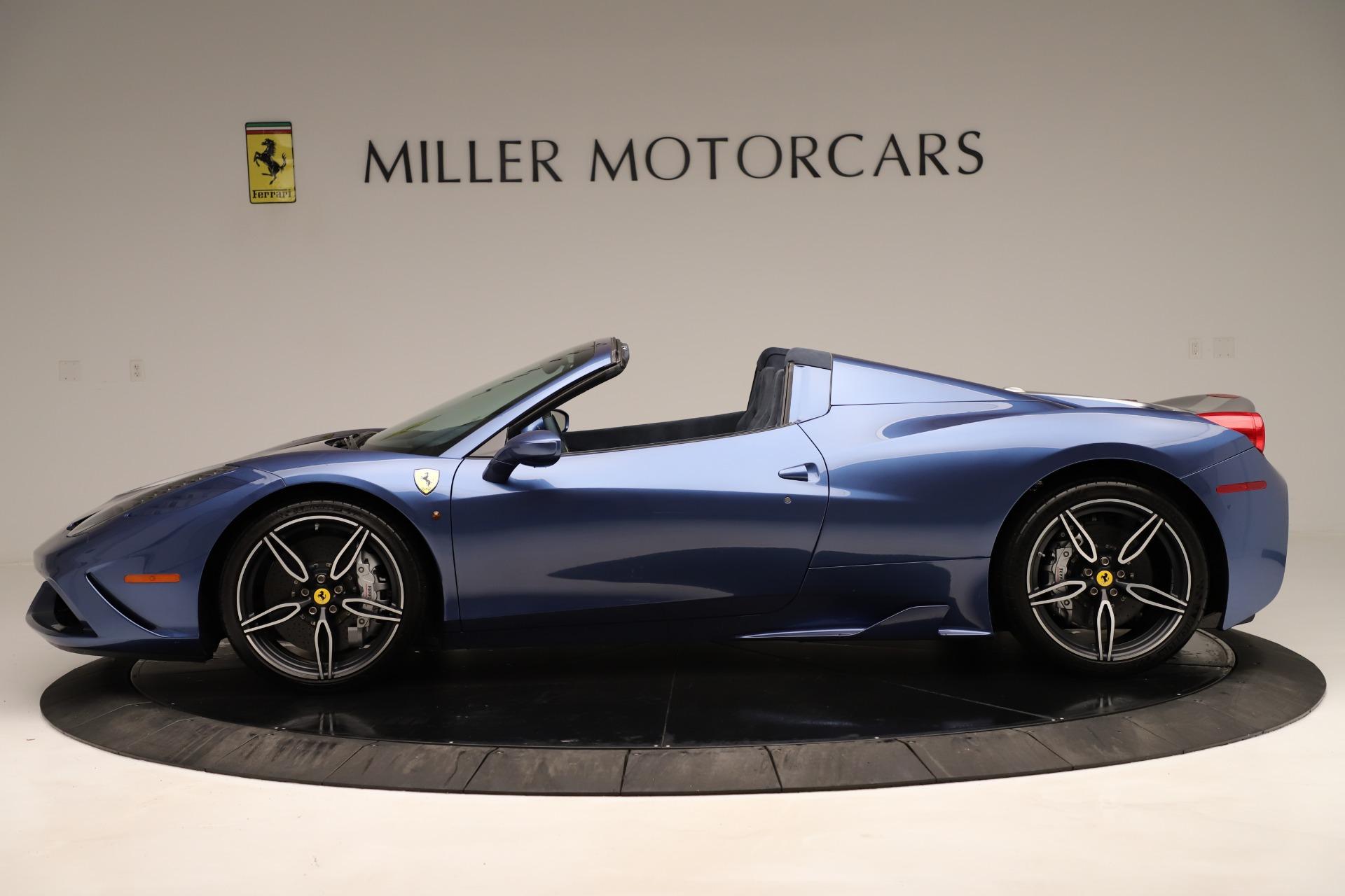 Used 2015 Ferrari 458 Speciale Aperta  For Sale In Greenwich, CT. Alfa Romeo of Greenwich, 4590 3372_p4