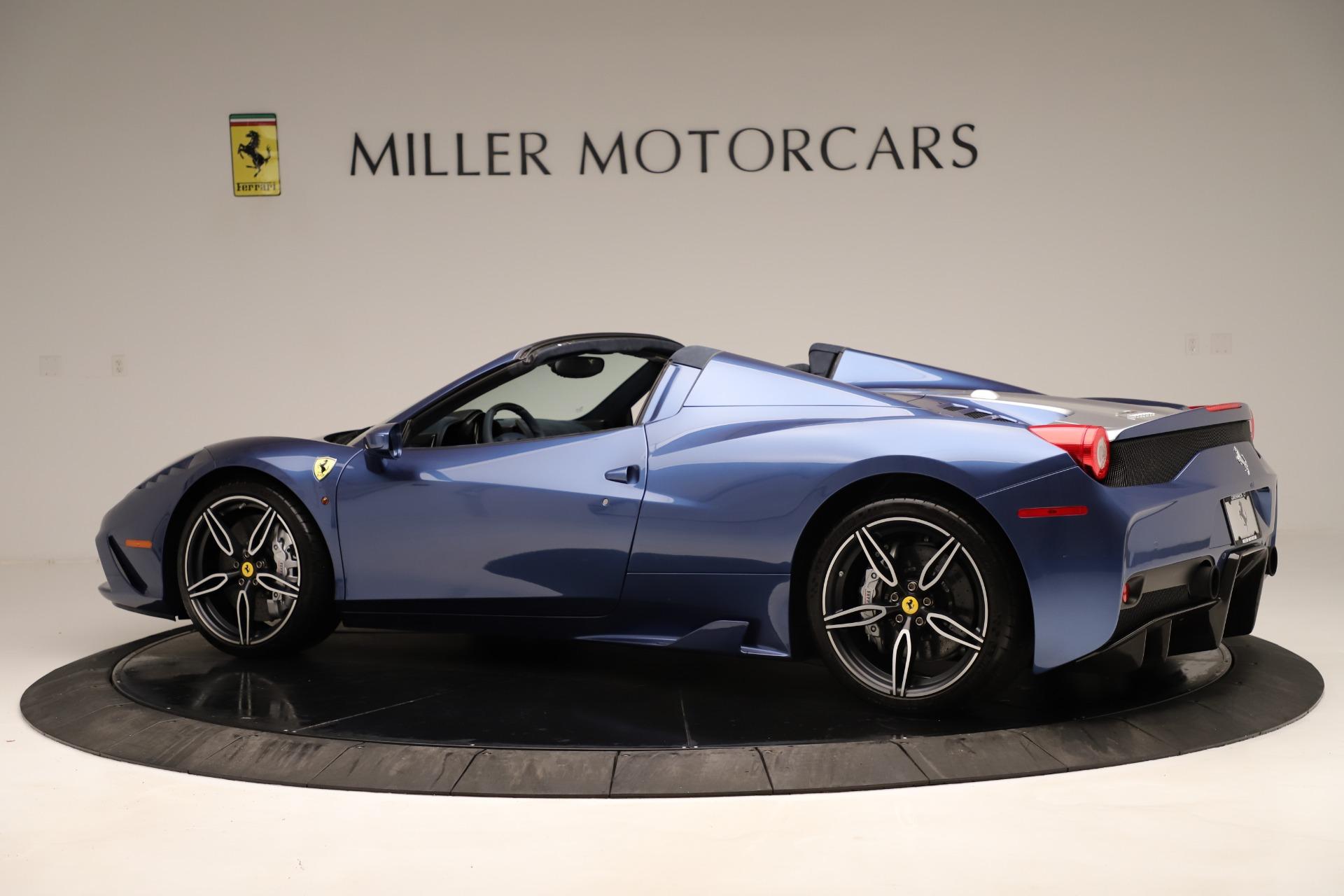 Used 2015 Ferrari 458 Speciale Aperta  For Sale In Greenwich, CT. Alfa Romeo of Greenwich, 4590 3372_p5