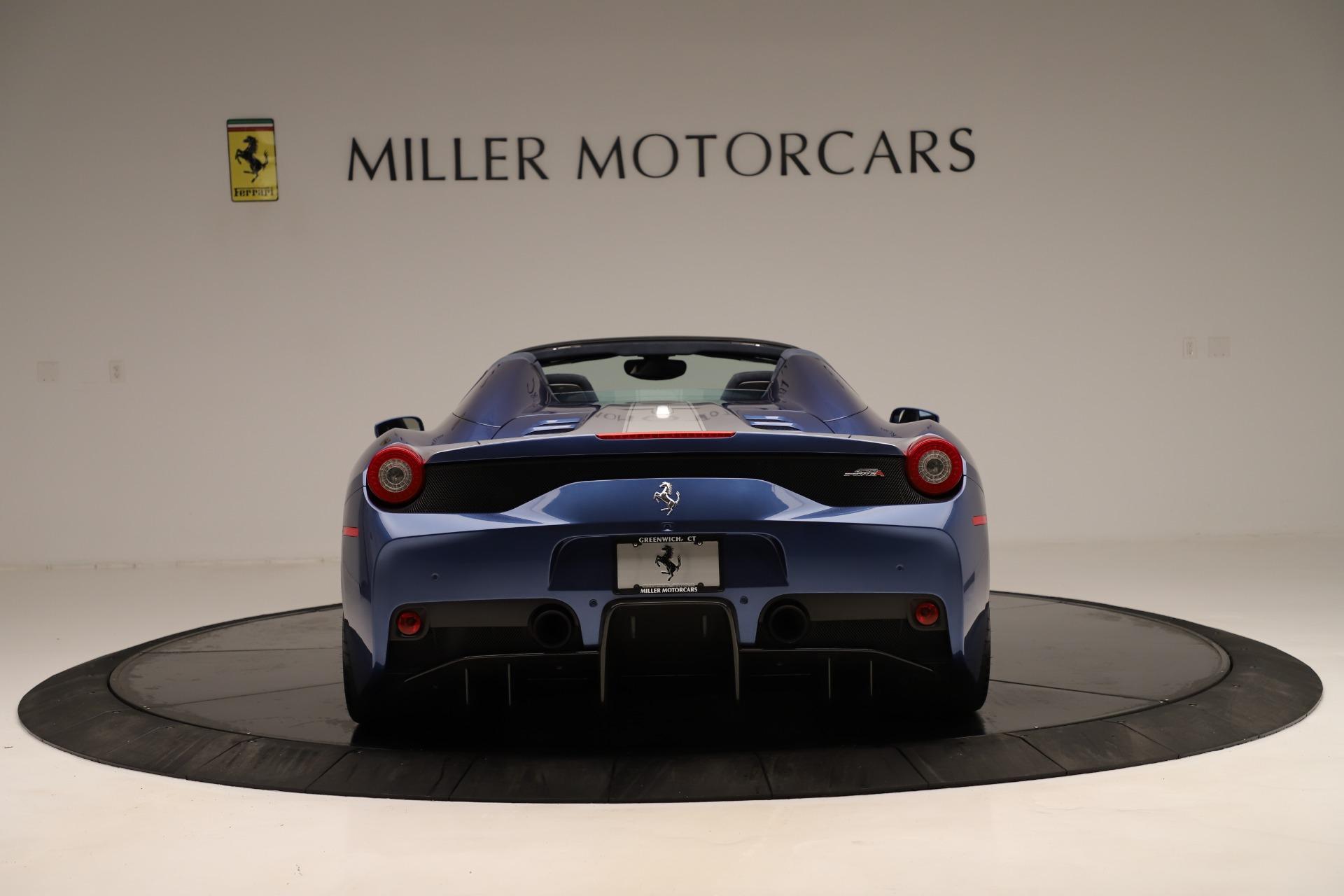 Used 2015 Ferrari 458 Speciale Aperta  For Sale In Greenwich, CT. Alfa Romeo of Greenwich, 4590 3372_p7
