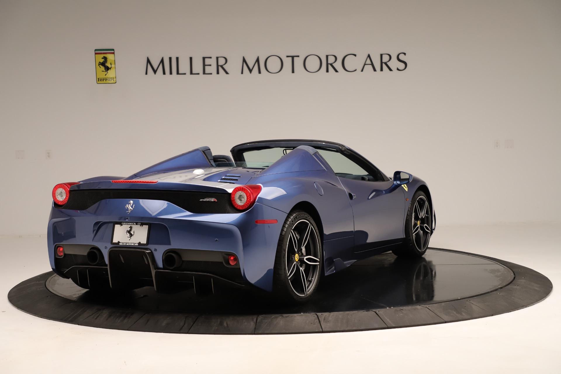 Used 2015 Ferrari 458 Speciale Aperta  For Sale In Greenwich, CT. Alfa Romeo of Greenwich, 4590 3372_p8